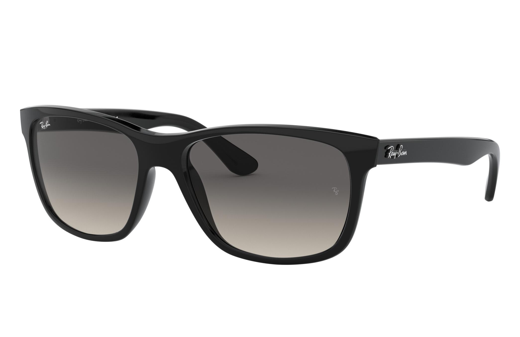 Ray-Ban Rb4181 Black, Gray Lenses - RB4181