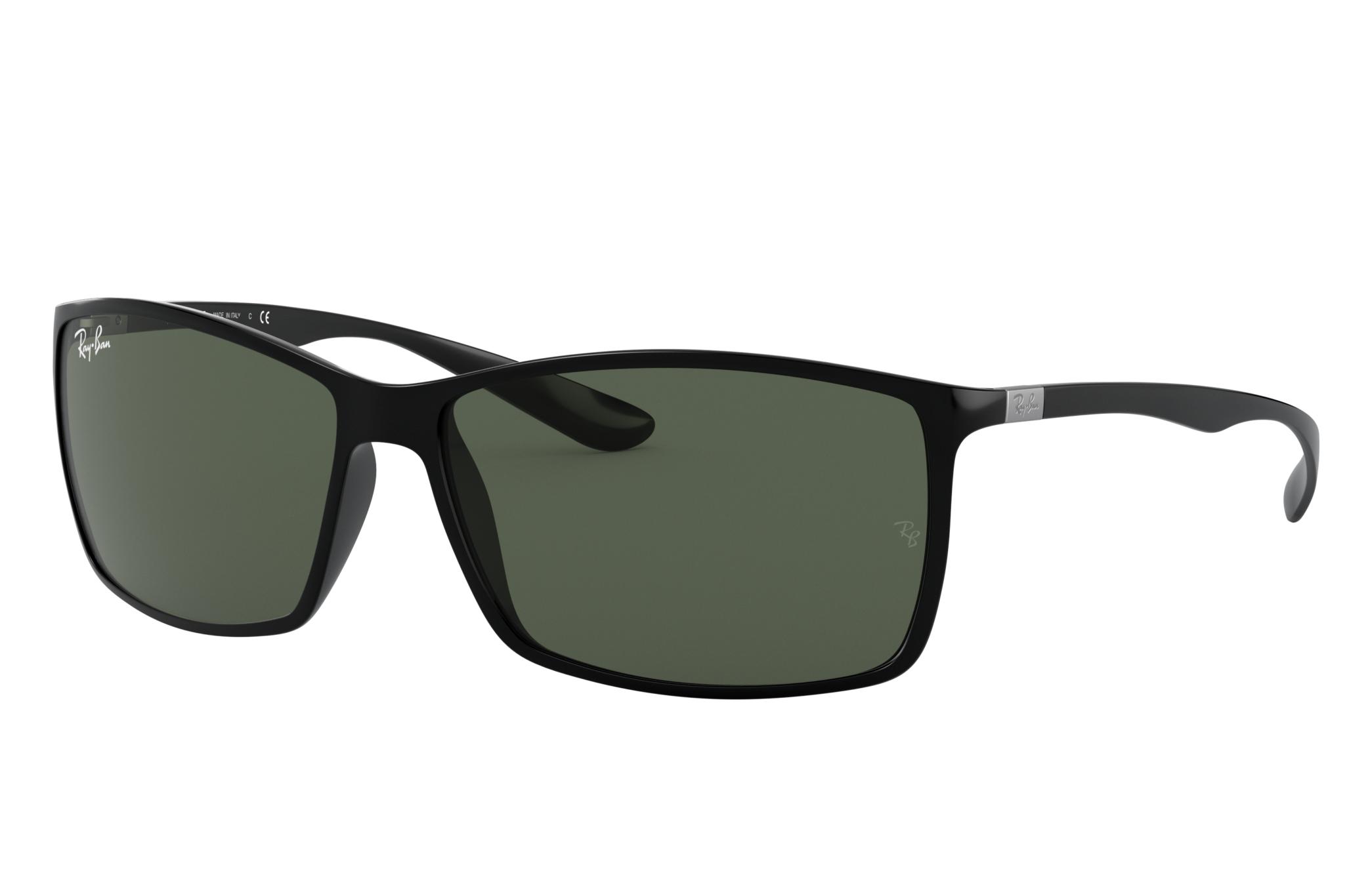 Ray-Ban Rb4179 Black, Green Lenses - RB4179