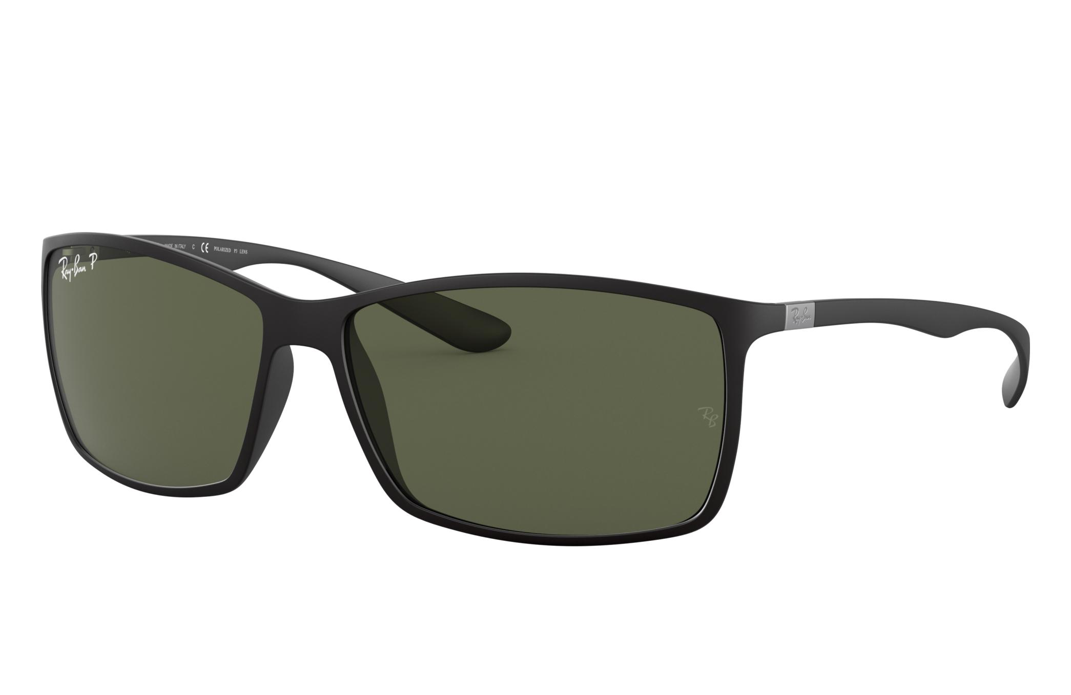 Ray-Ban Rb4179 Black, Polarized Green Lenses - RB4179