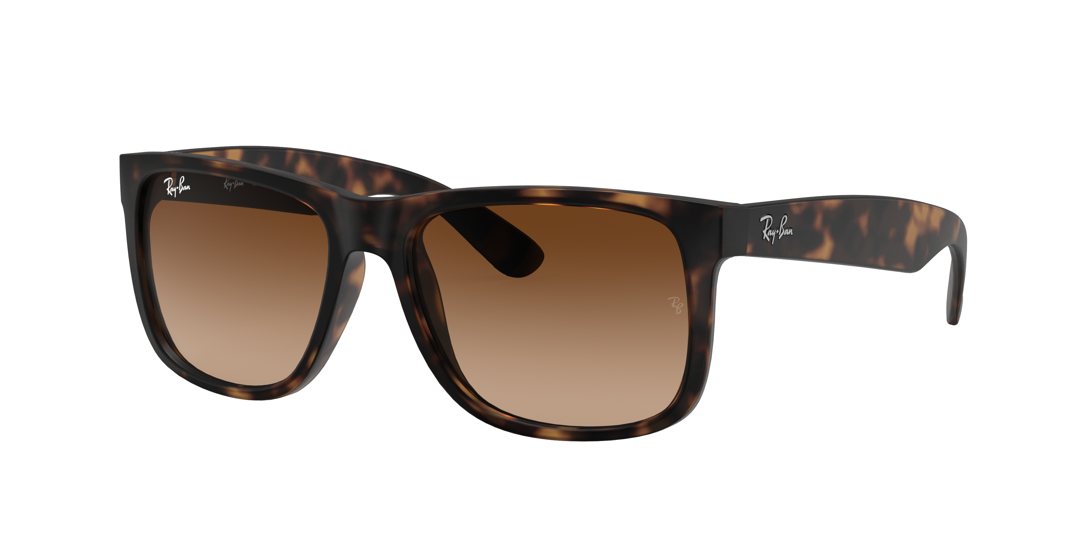 Ray-Ban Justin Classic Tortoise, Brown Lenses - RB4165