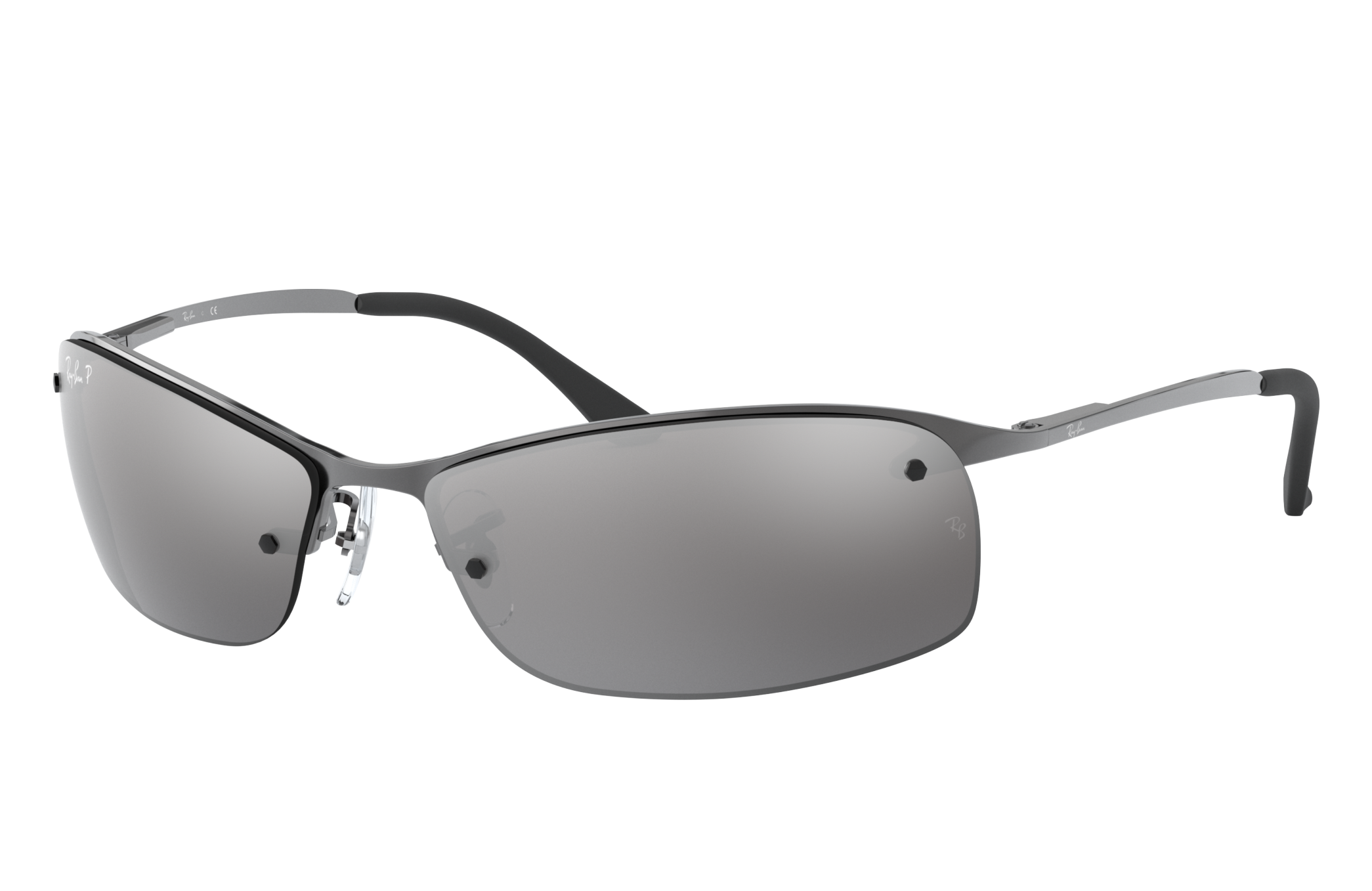 Ray-Ban Rb3183 Gunmetal, Polarized Gray Lenses - RB3183