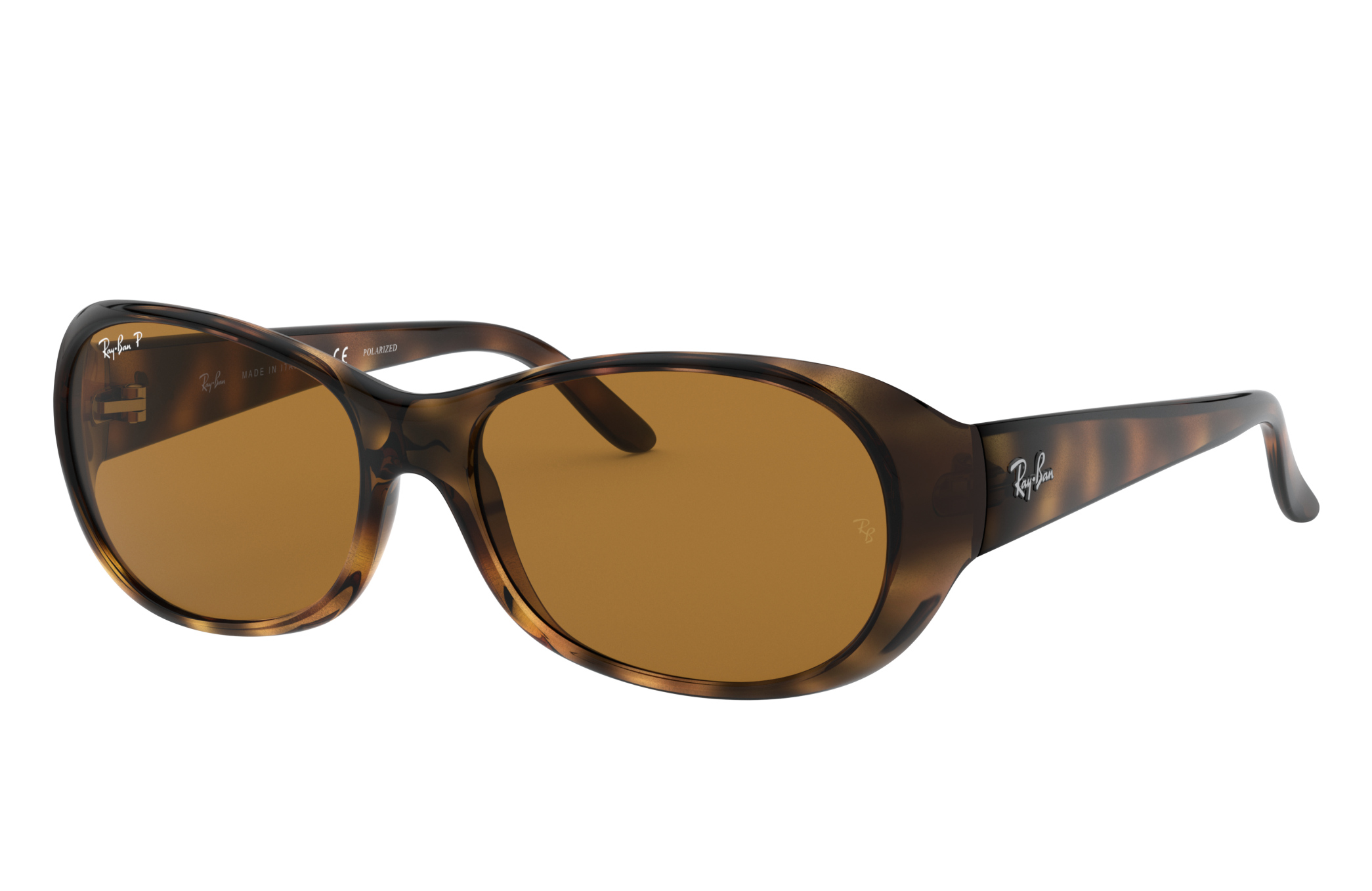 Ray-Ban Rb4061 Tortoise, Polarized Brown Lenses - RB4061