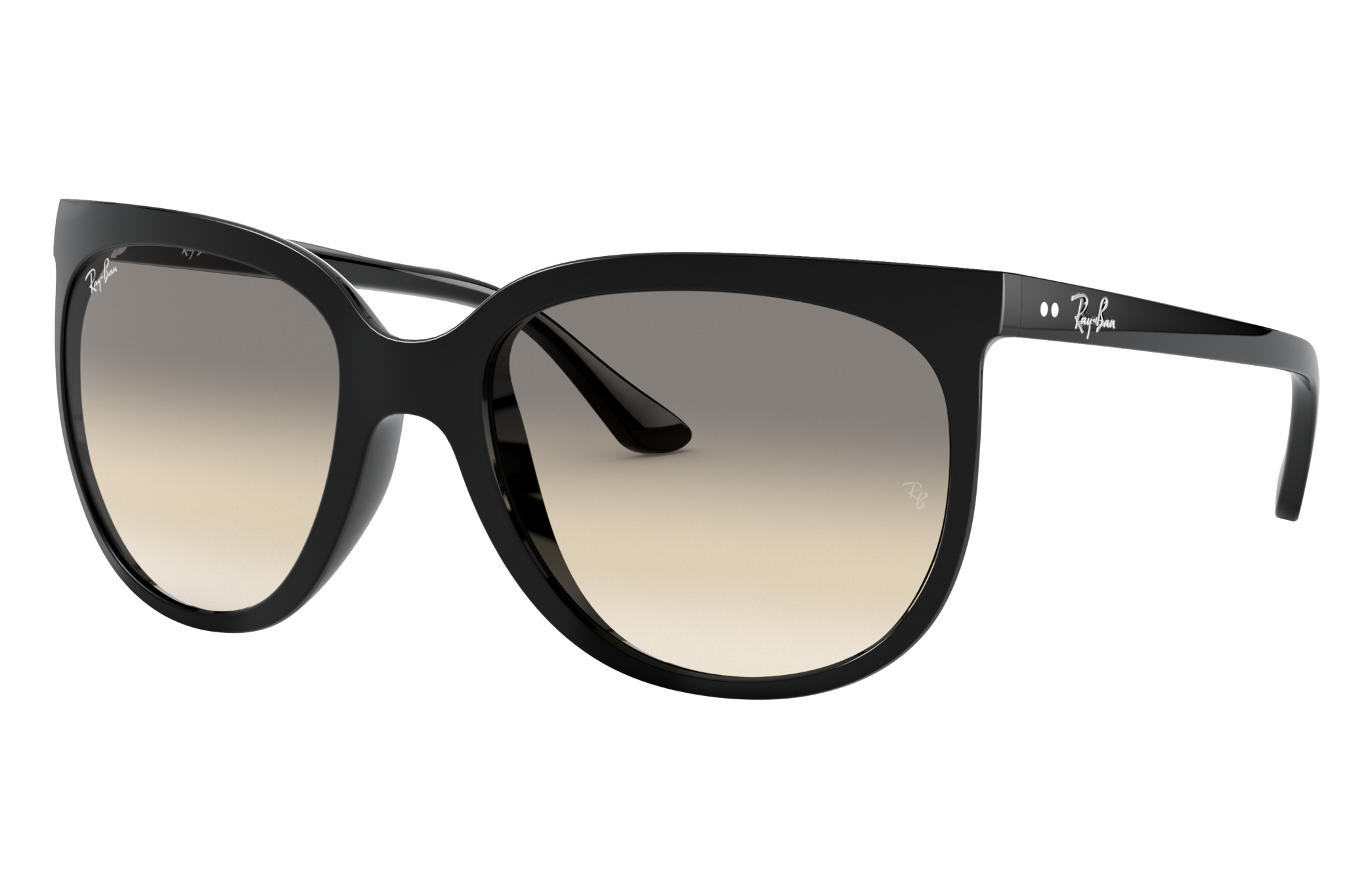 Ray-Ban Cats 1000 Black, Gray Lenses - RB4126