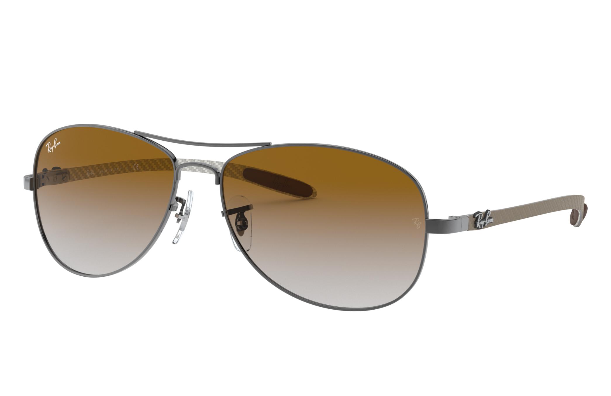 Ray-Ban Rb8301 Grey, Brown Lenses - RB8301