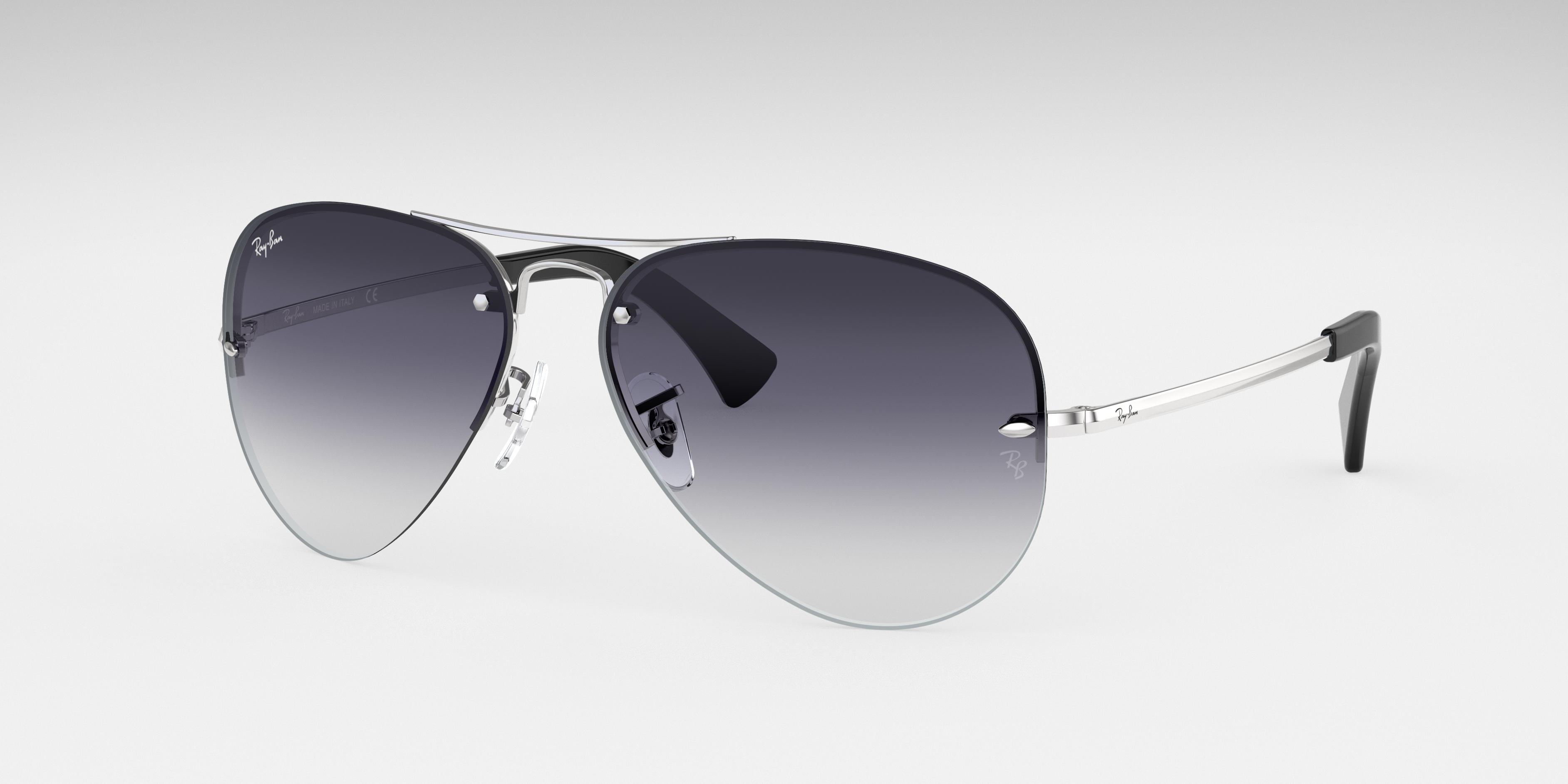 Ray-Ban Rb3449 Silver, Gray Lenses - RB3449