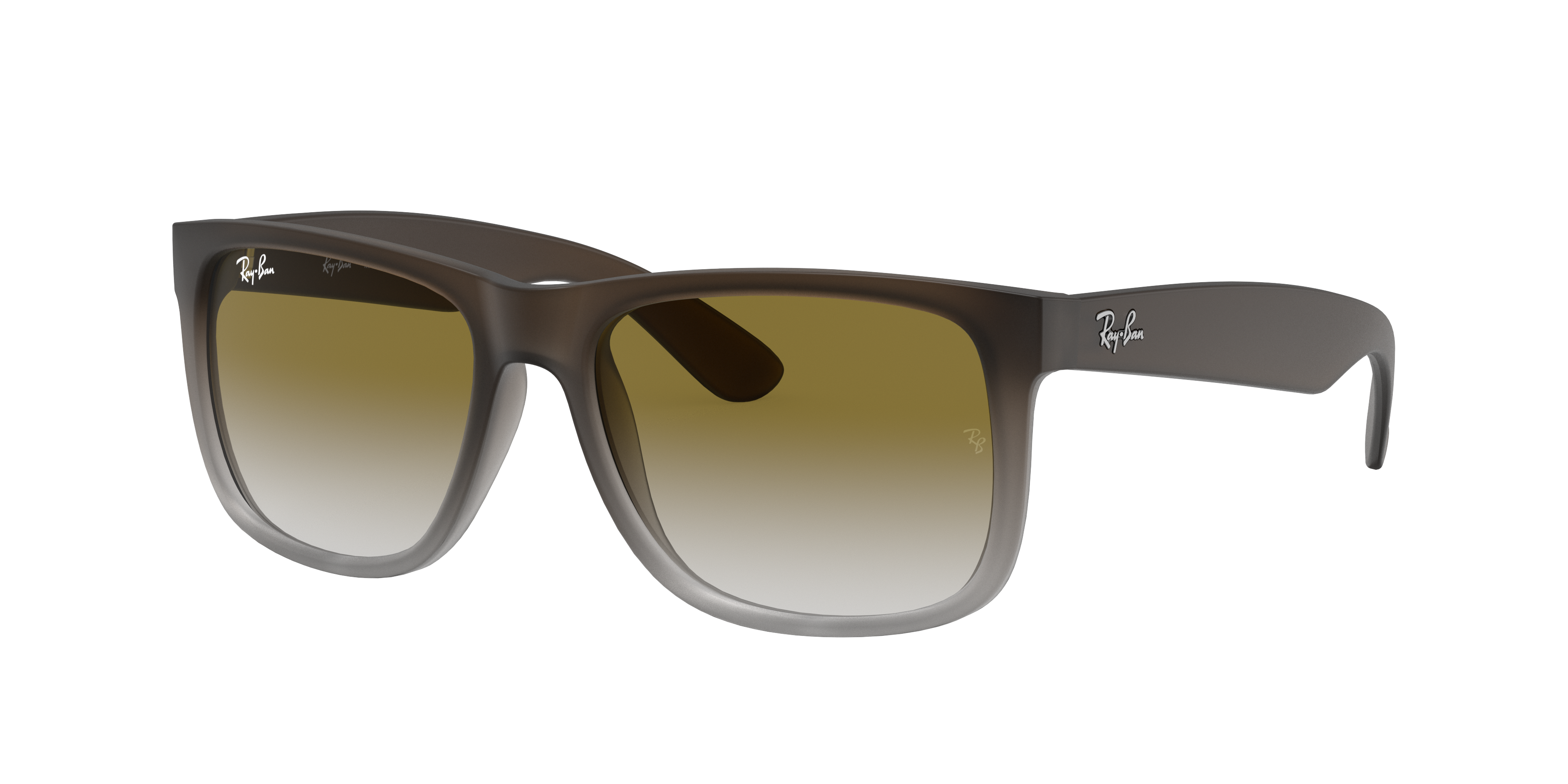 Ray-Ban Justin Classic Brown, Green Lenses - RB4165