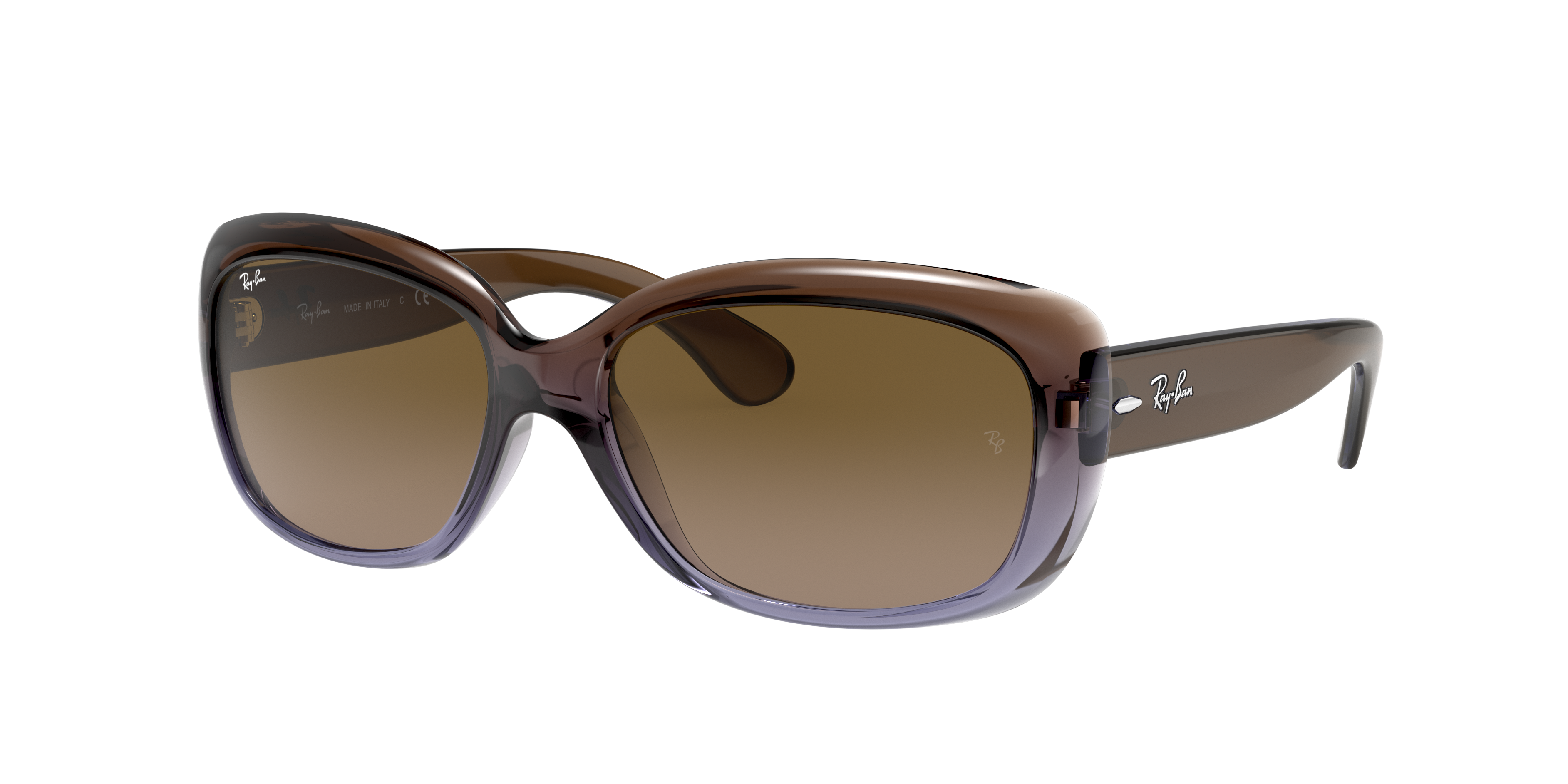 Ray-Ban Jackie Ohh Brown, Brown Lenses - RB4101