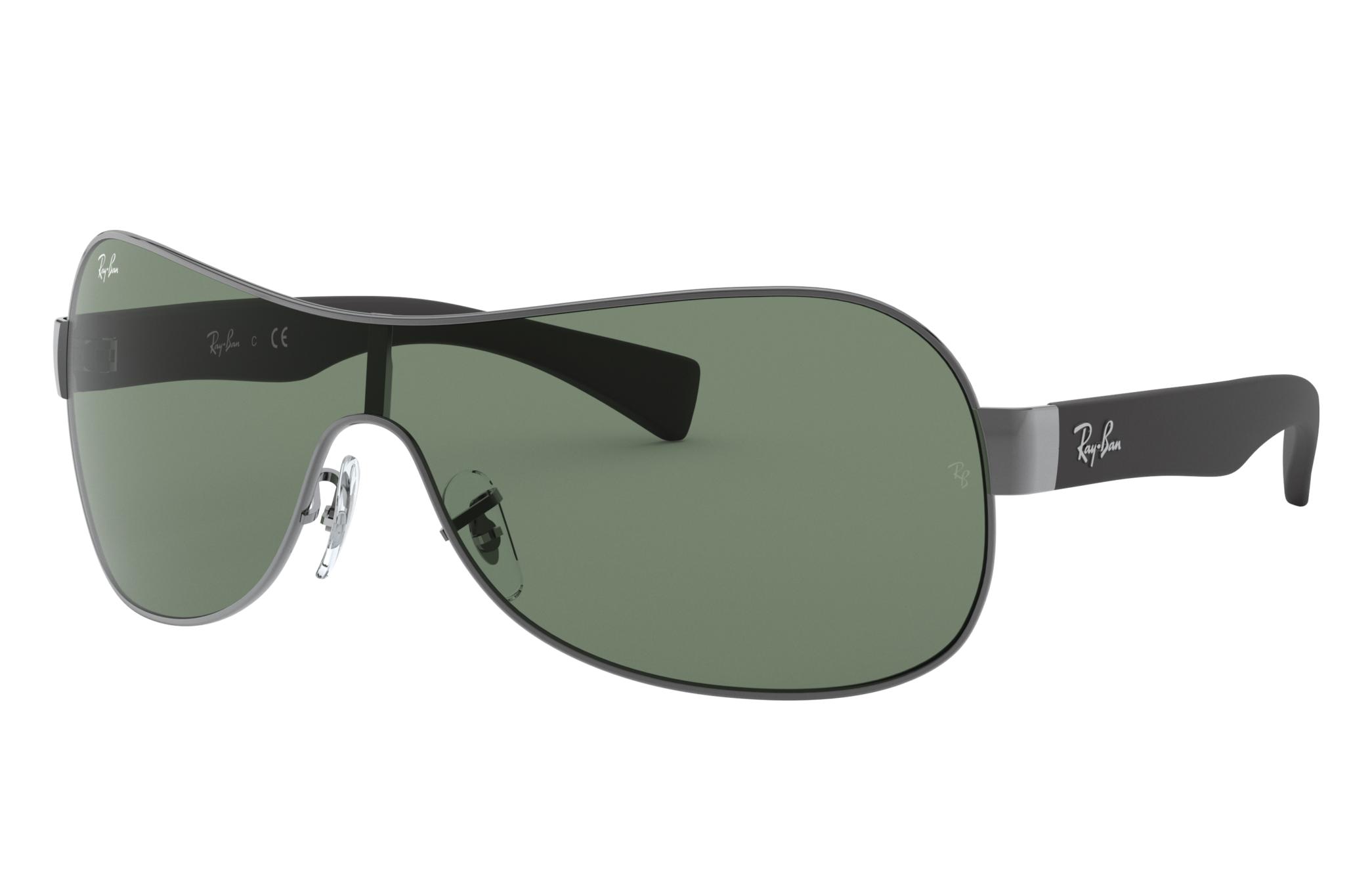 Ray-Ban Rb3471 Black, Green Lenses - RB3471