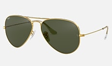 Ray-Ban RB3025 L0205 58-14 AVIATOR CLASSIC GOLD ゴールド Aviator