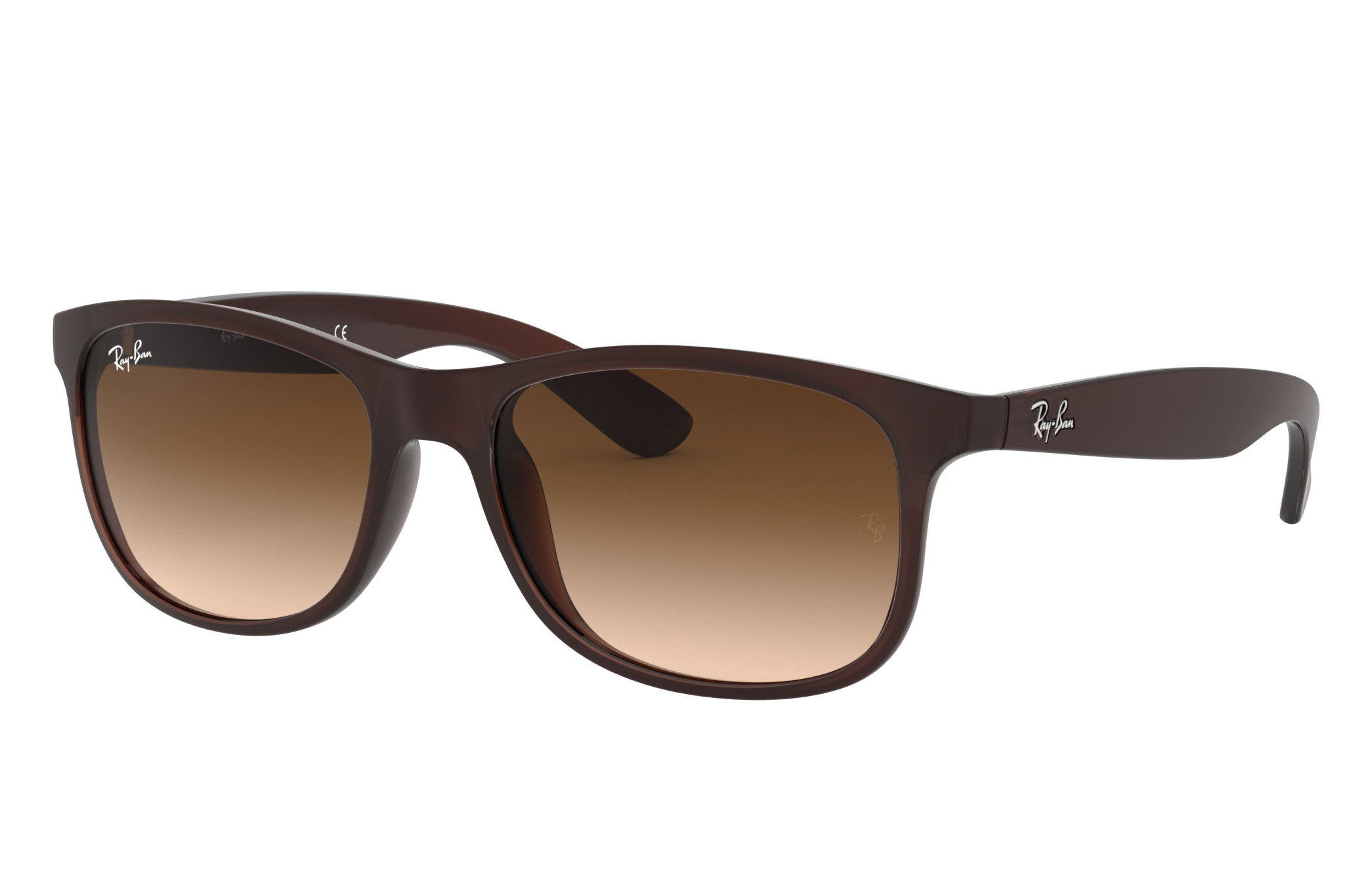 Ray-Ban Andy Brown, Brown Lenses - RB4202