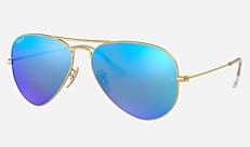 Ray-Ban RB3025 112/4L 58-14 AVIATOR MIRROR マットゴールド Aviator
