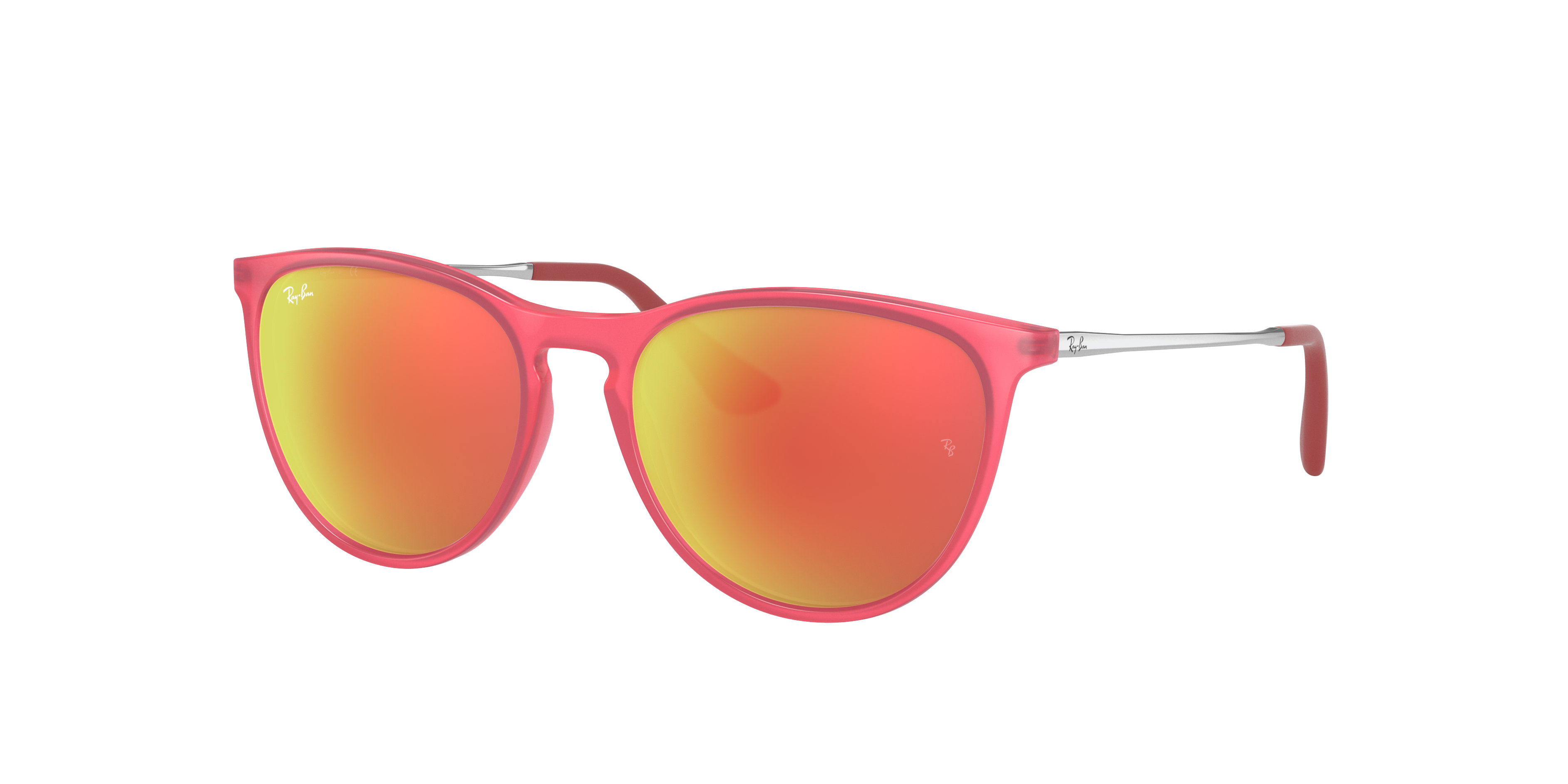 Ray-Ban Izzy Silver, Red Lenses - RJ9060S