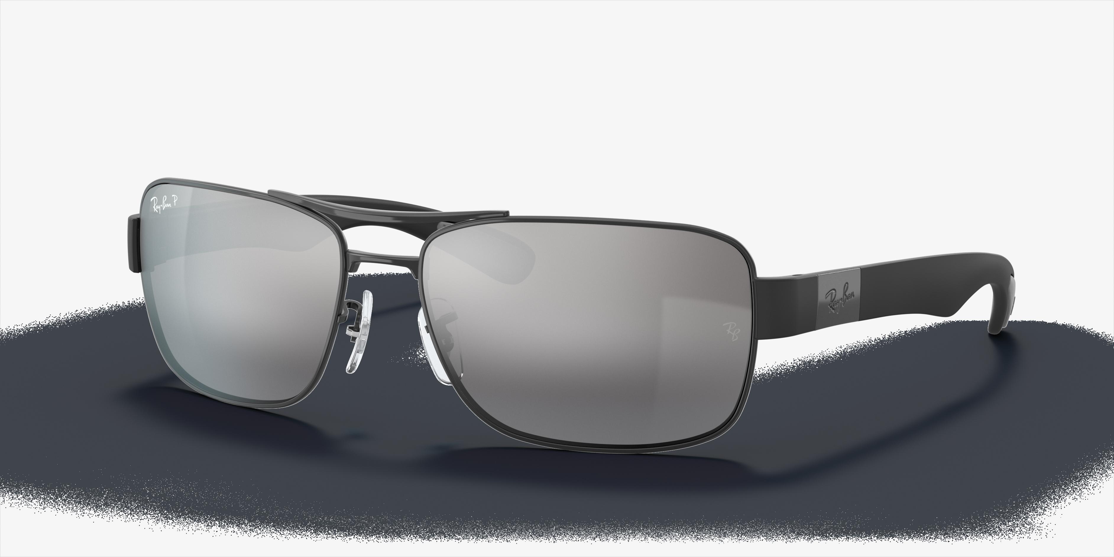 Ray-Ban Rb3522 Black, Polarized Gray Lenses - RB3522
