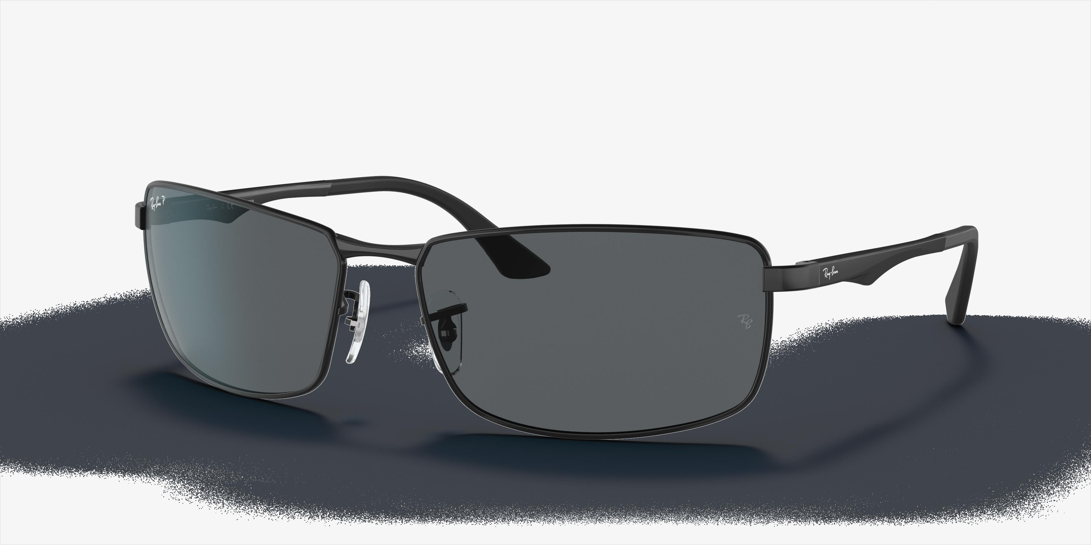 Ray-Ban Rb3498 Black, Polarized Gray Lenses - RB3498