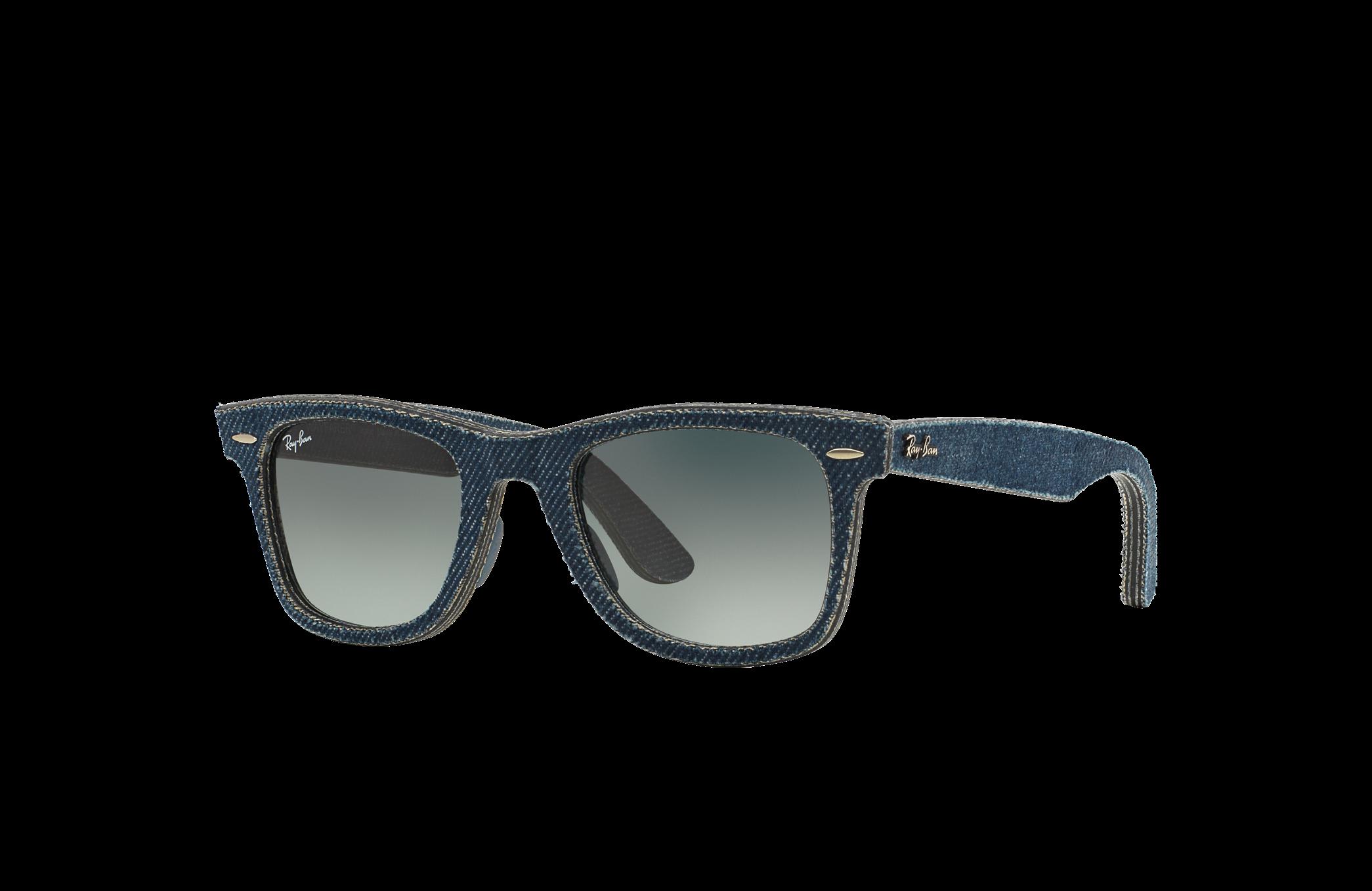 Ray-Ban Original Wayfarer Denim Blue, Gray Lenses - RB2140