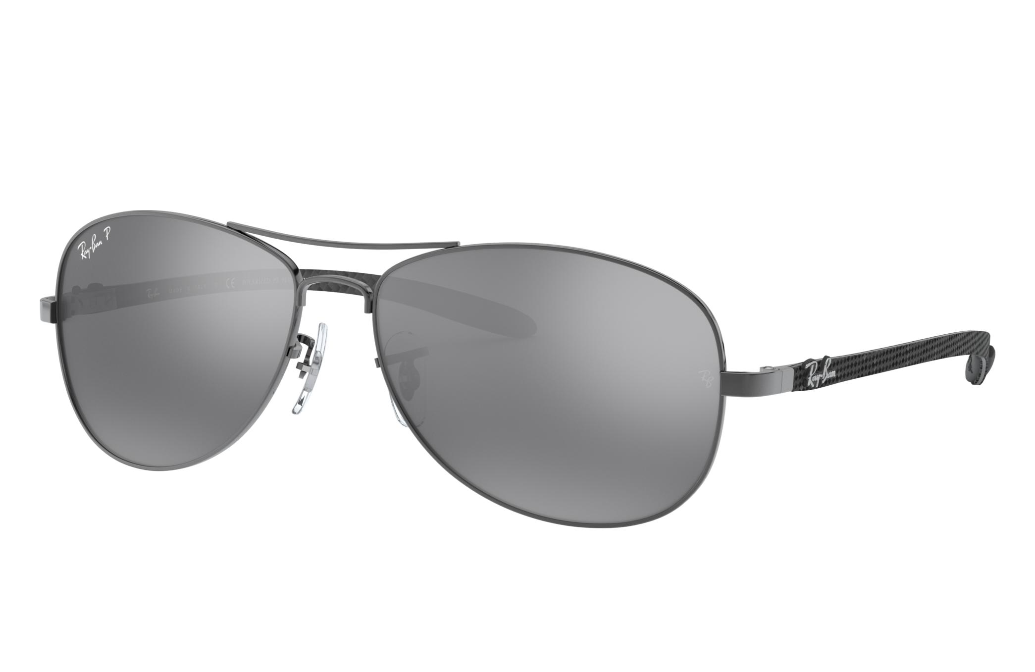 Ray-Ban Rb8301 Grey, Polarized Gray Lenses - RB8301