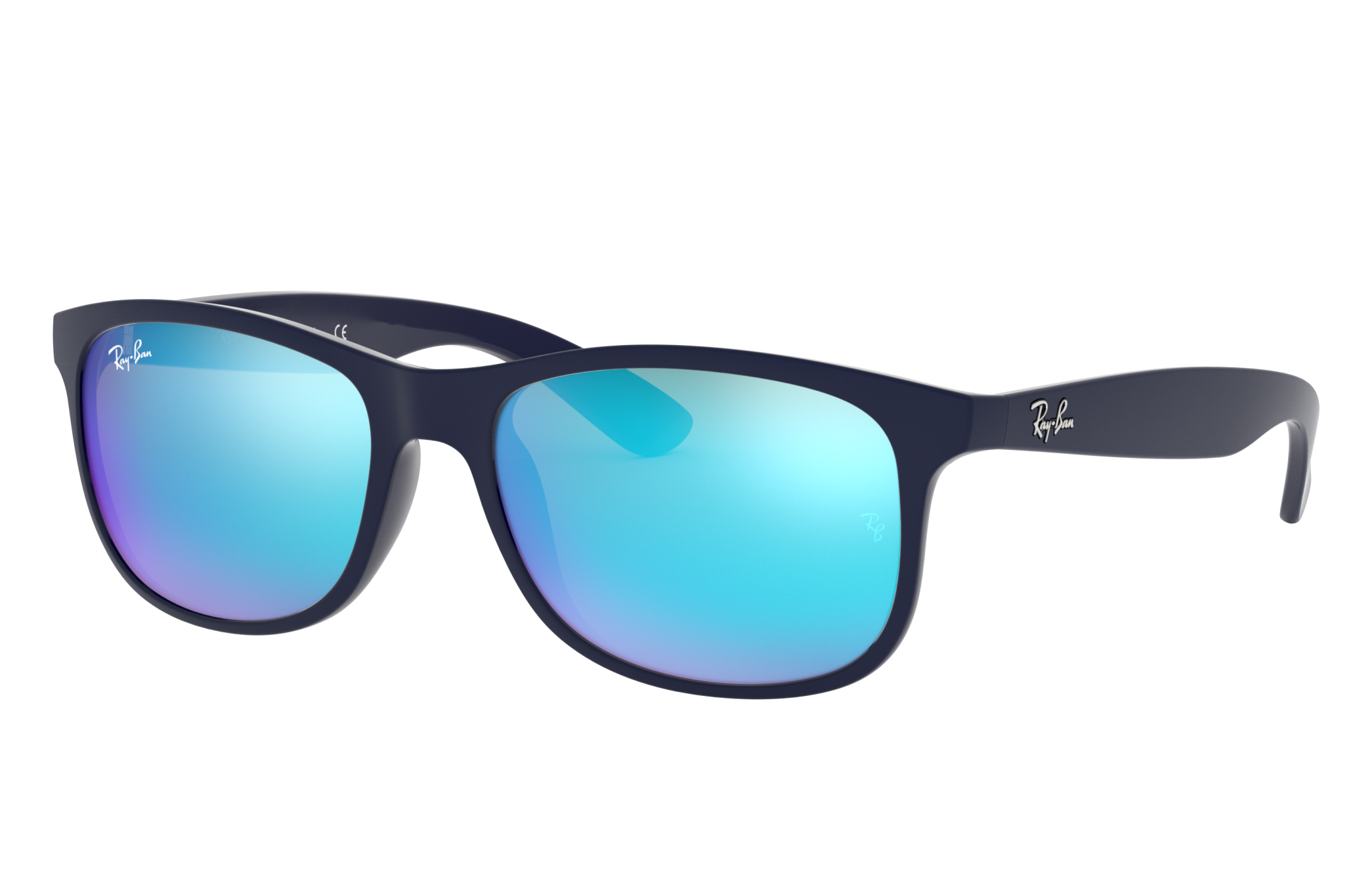 Ray-Ban Andy Blue, Blue Lenses - RB4202