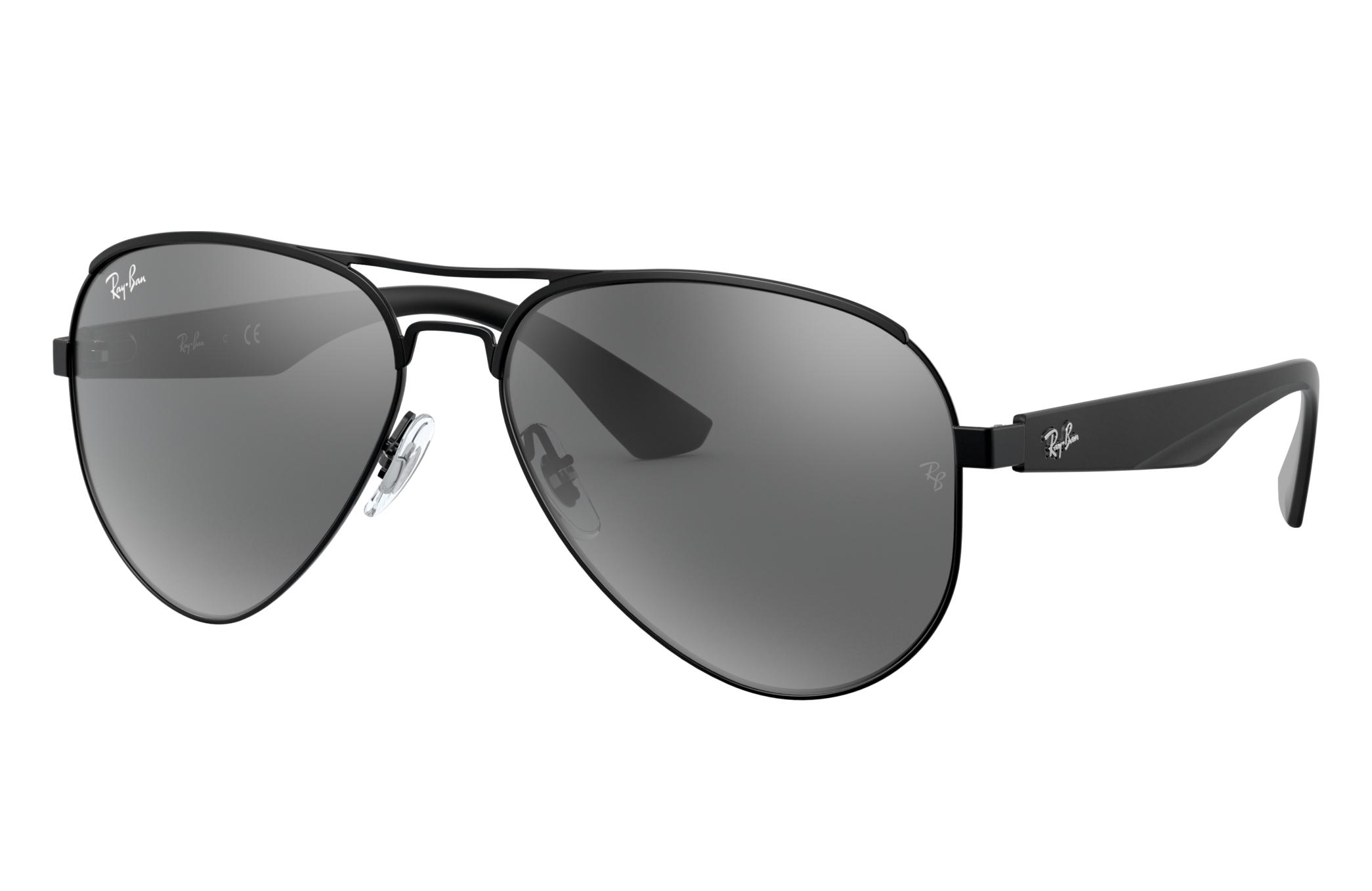 Ray-Ban Rb3523 Black, Gray Lenses - RB3523