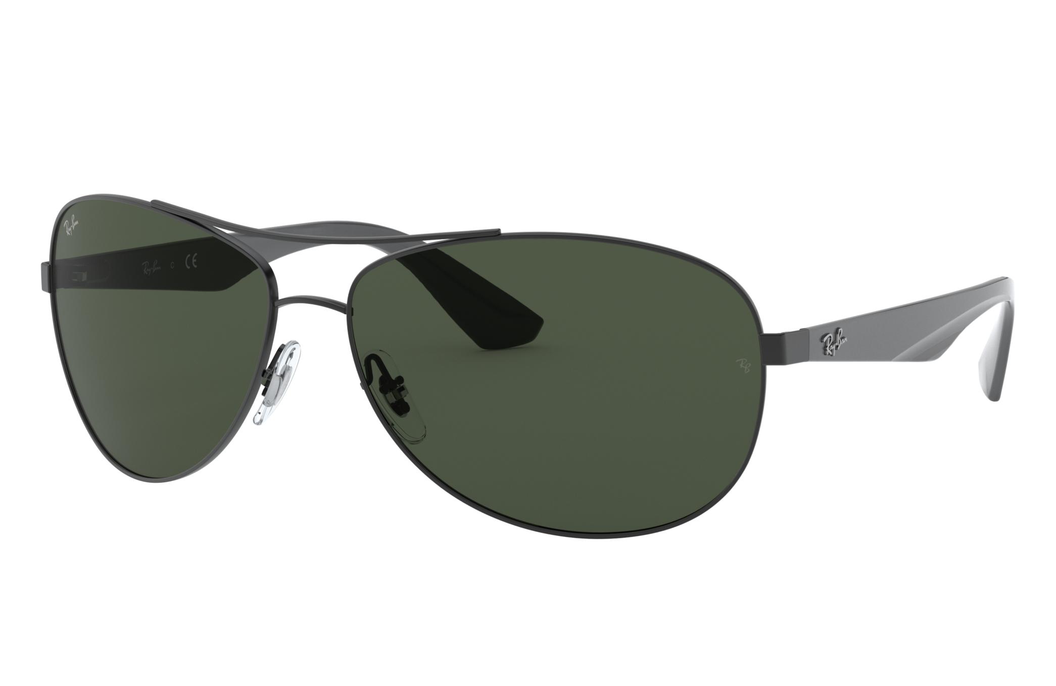 Ray-Ban Rb3526 Grey, Green Lenses - RB3526