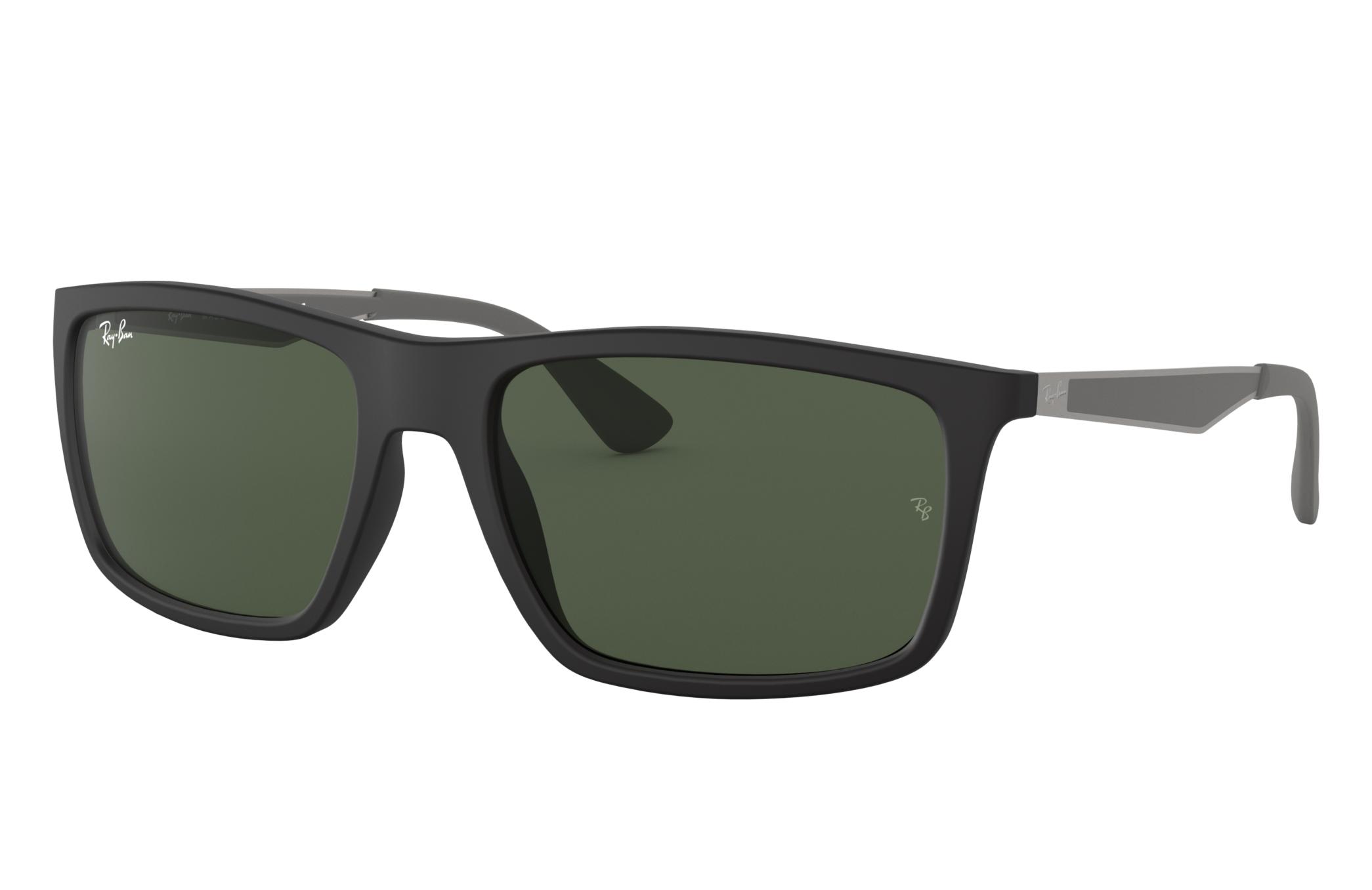 Ray-Ban Rb4228 Gunmetal, Green Lenses - RB4228