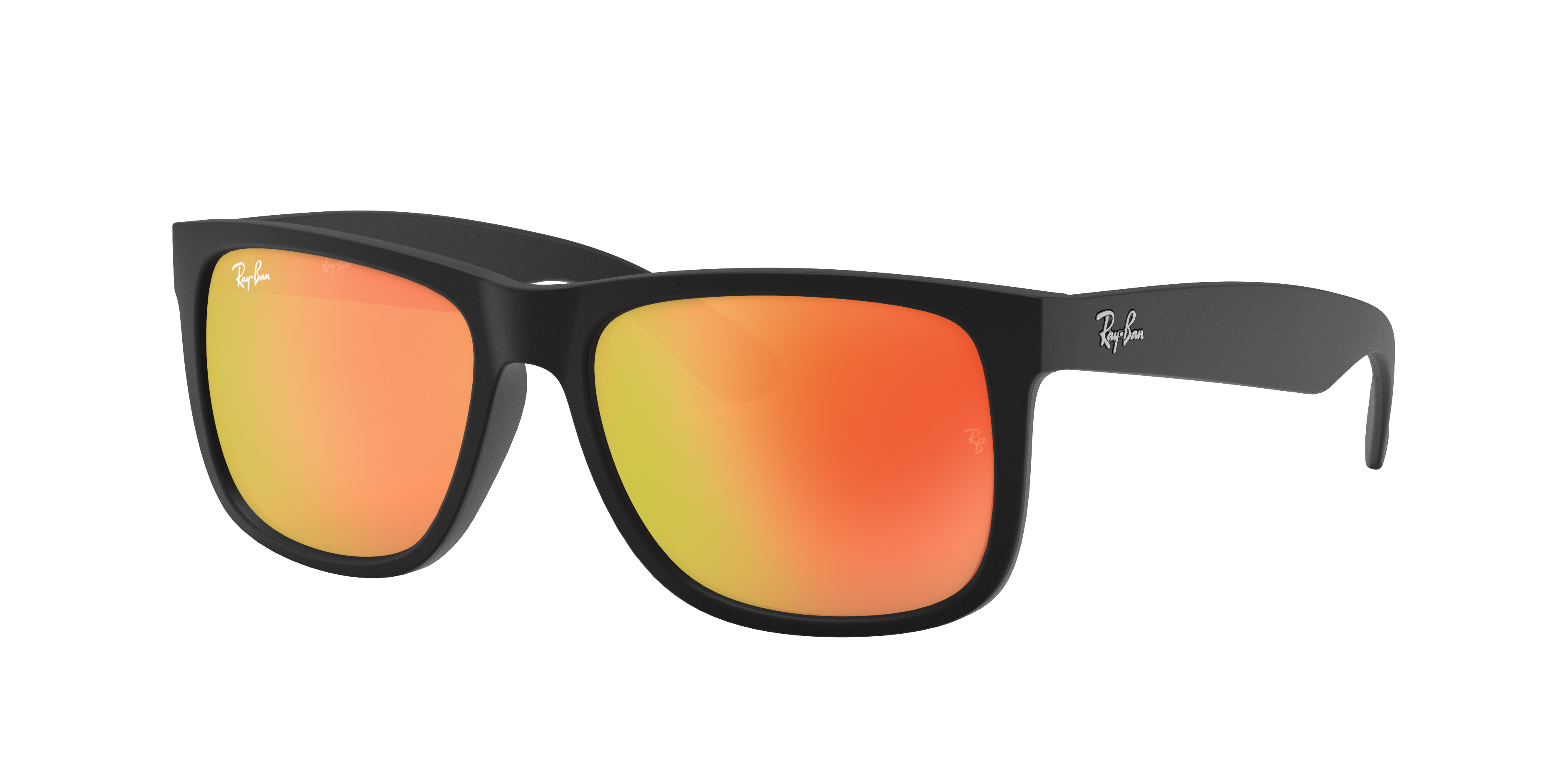 Ray-Ban Justin Color Mix Black, Red Lenses - RB4165
