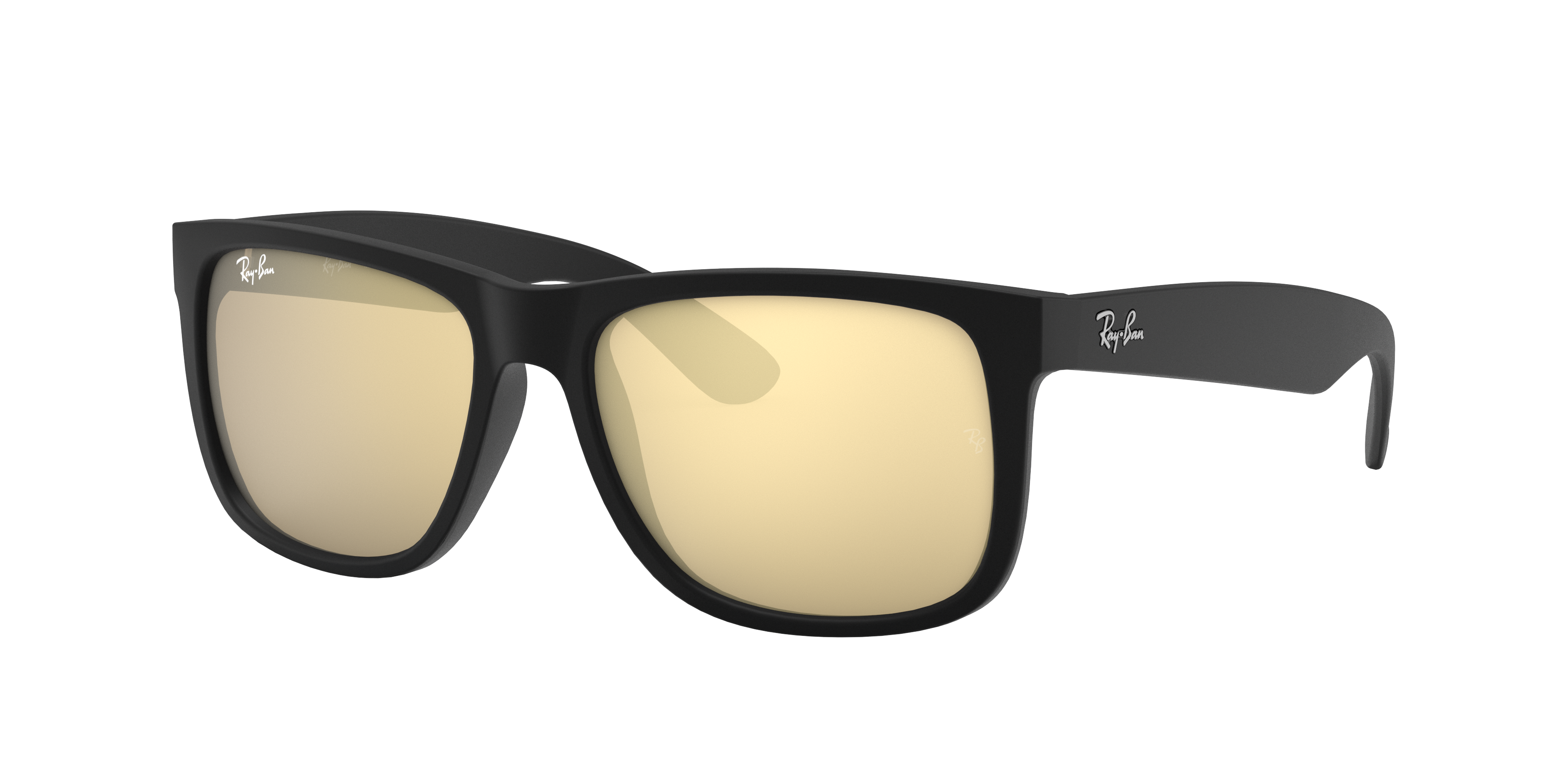 Ray-Ban Justin Color Mix Black, Yellow Lenses - RB4165