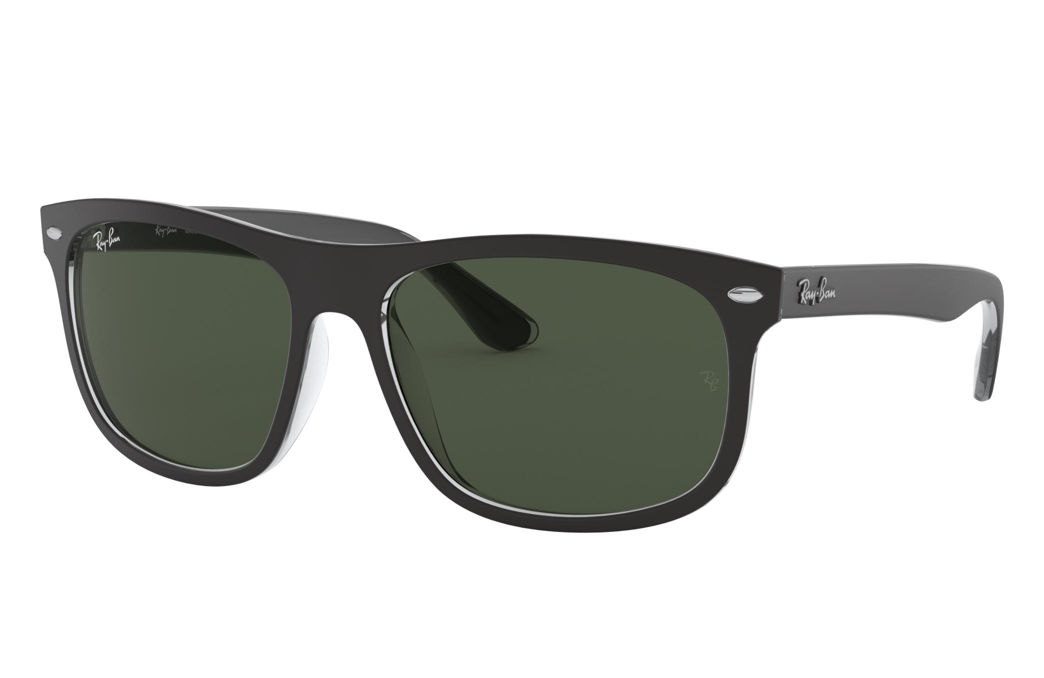 Ray-Ban Rb4226 Black, Green Lenses - RB4226