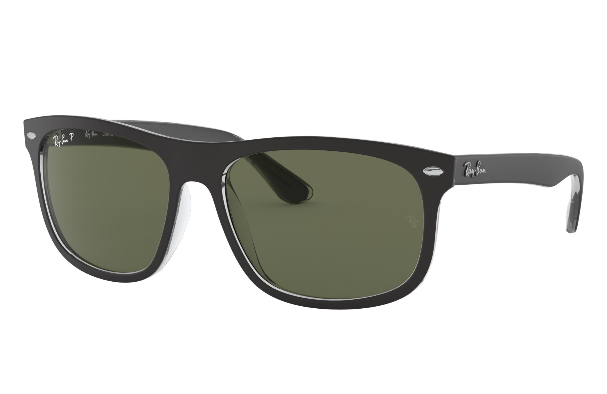 Ray-Ban Rb4226 Black, Polarized Green Lenses - RB4226