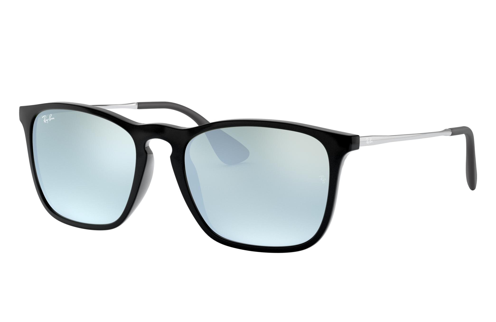 Ray-Ban Chris Gunmetal, Gray Lenses - RB4187