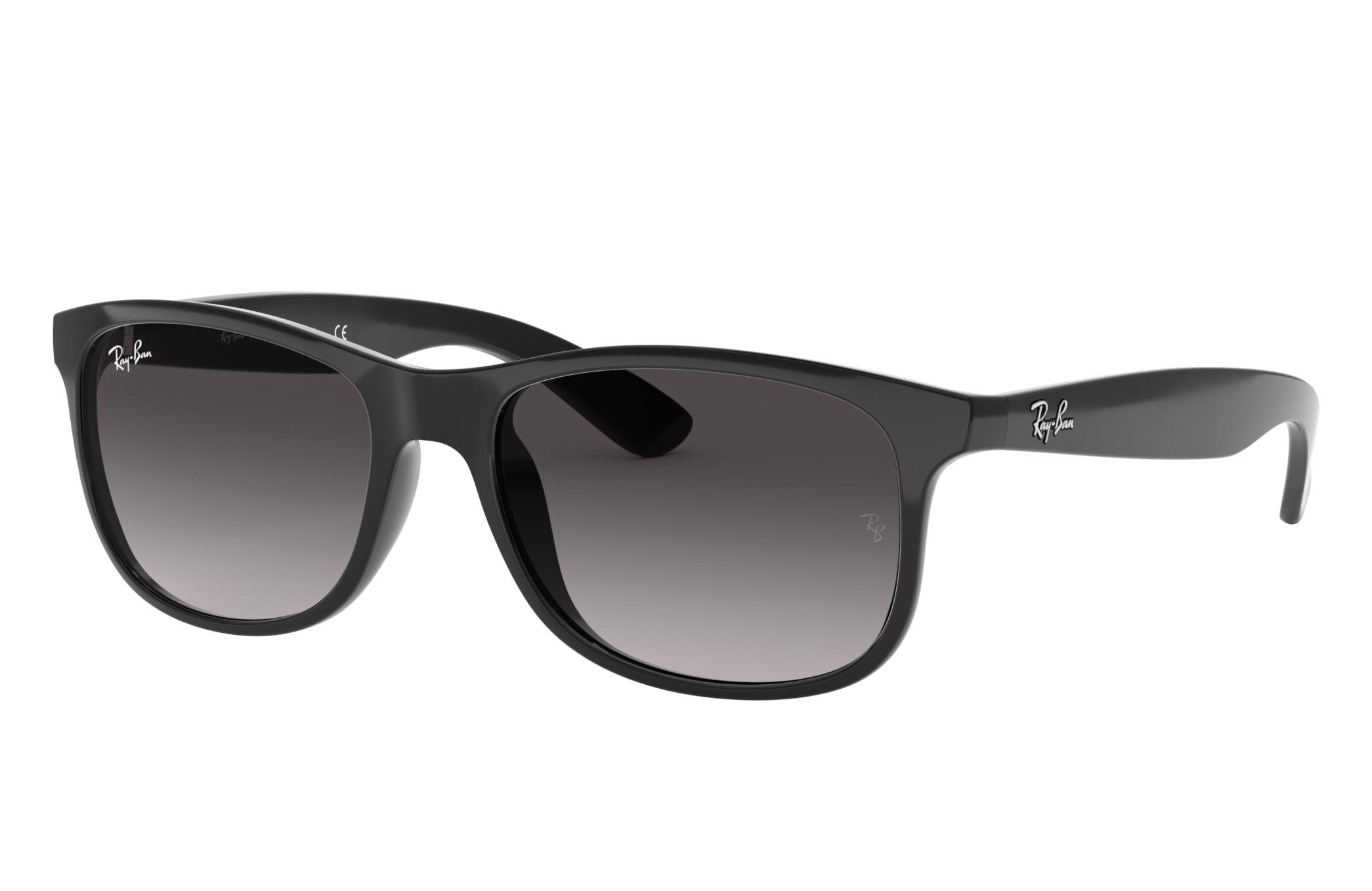 Ray-Ban Andy Black, Gray Lenses - RB4202