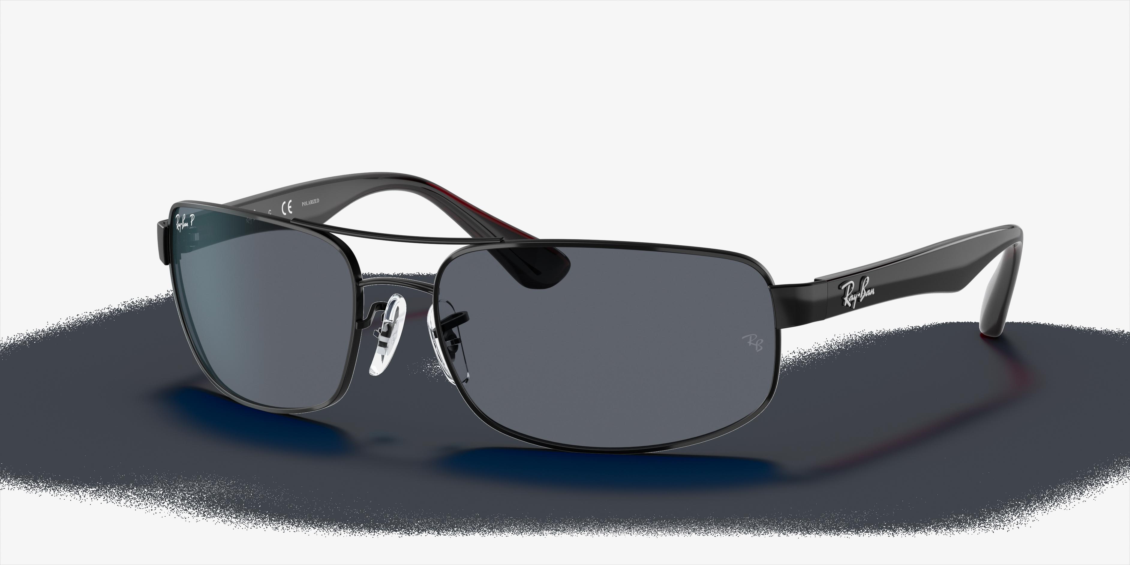 Ray-Ban Rb3445 Black, Polarized Gray Lenses - RB3445