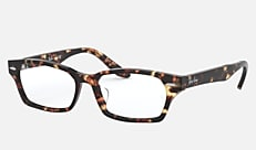 Ray-Ban RX5344D 2243 55-16 RX5344D (JPフィット) ハバナ 新作メガネ