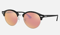 Ray-Ban RB4246 1197Z2 51-19 CLUBRAOUND CLASSIC(USフィット) ブラック Clubmaster