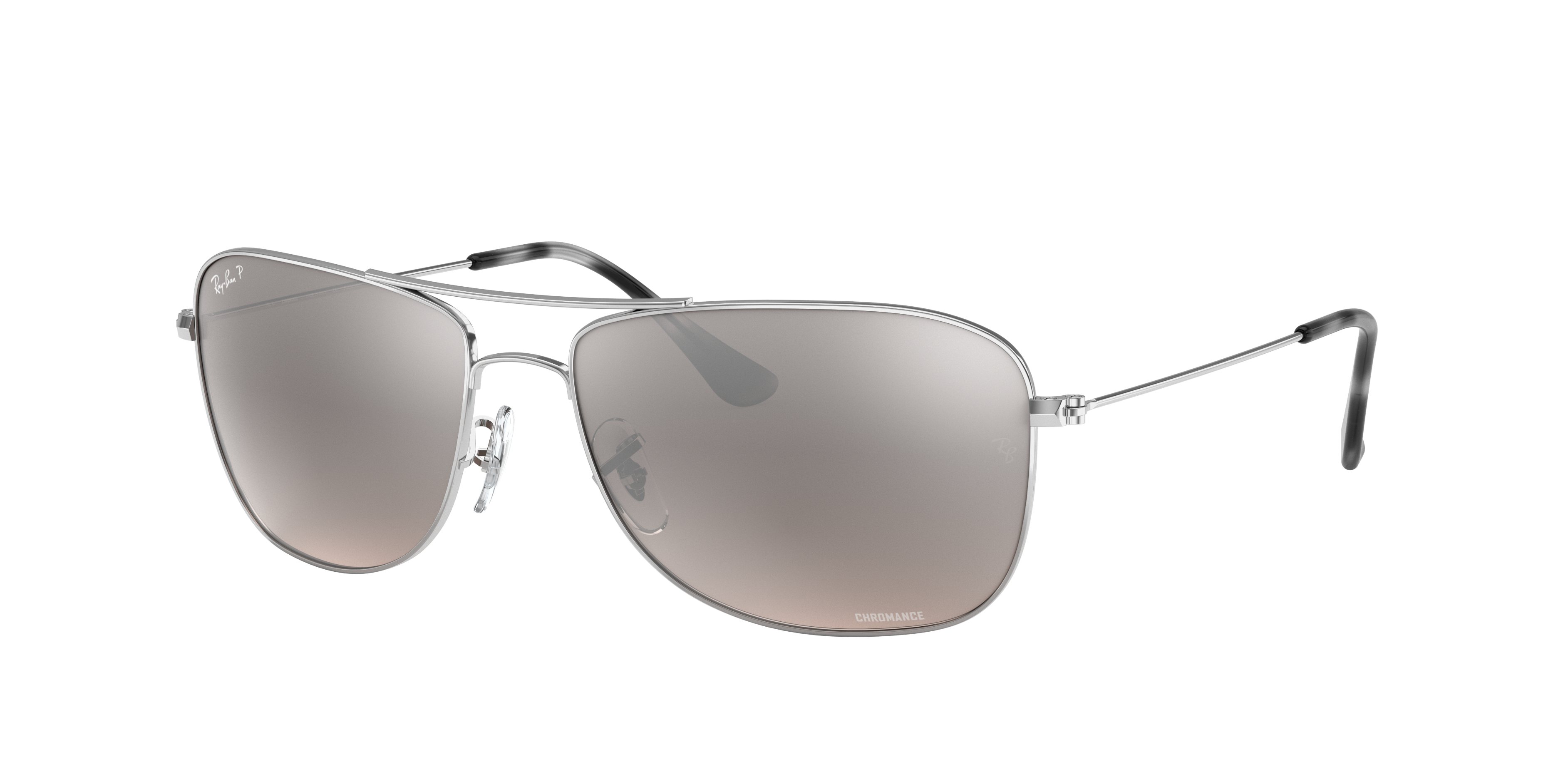 Ray-Ban Rb3543 Chromance Silver, Polarized Gray Lenses - RB3543