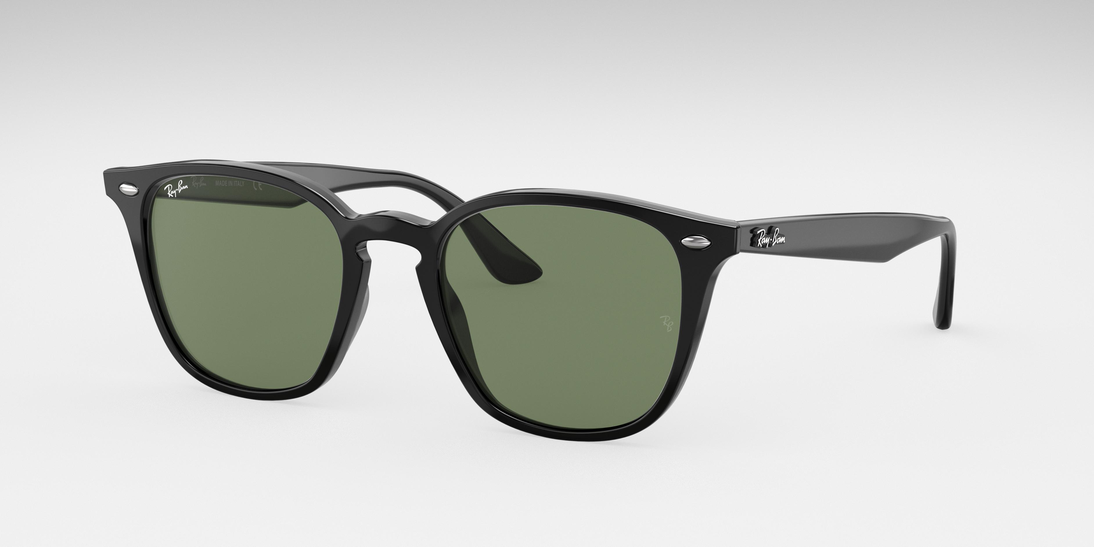 Ray-Ban Rb4258 Black, Green Lenses - RB4258