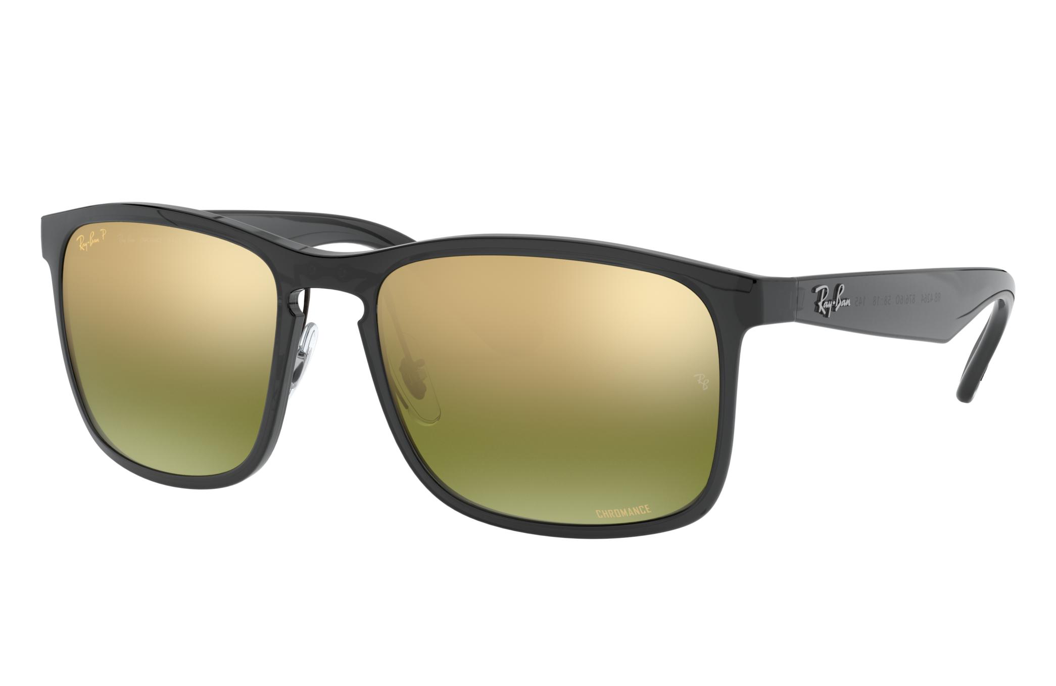 Ray-Ban Rb4264 Chromance Grey, Polarized Green Lenses - RB4264