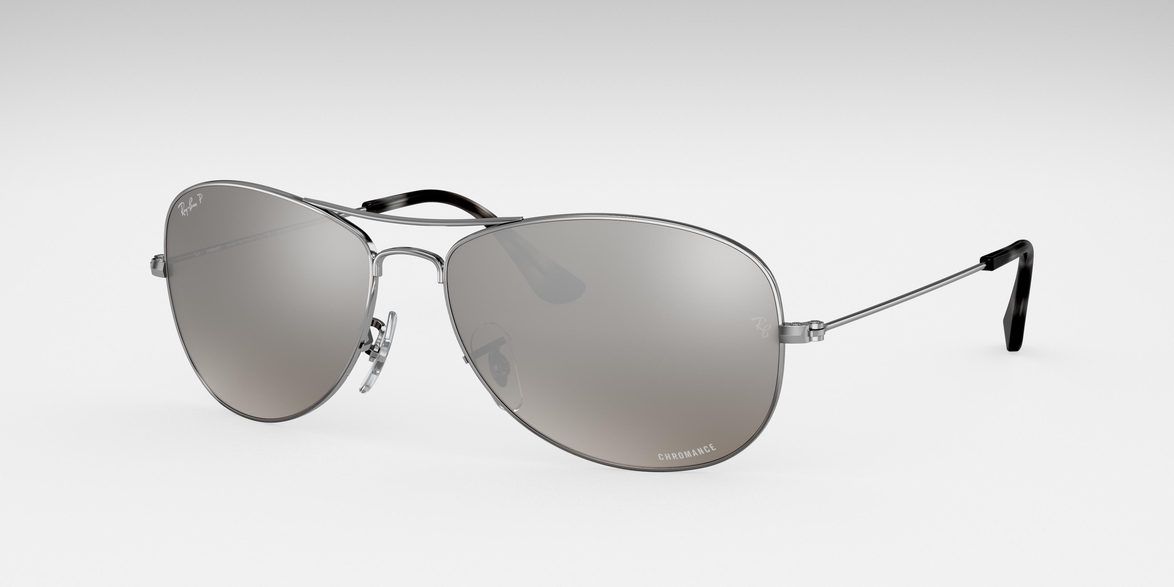 Ray-Ban Rb3562 Chromance Silver, Polarized Gray Lenses - RB3562