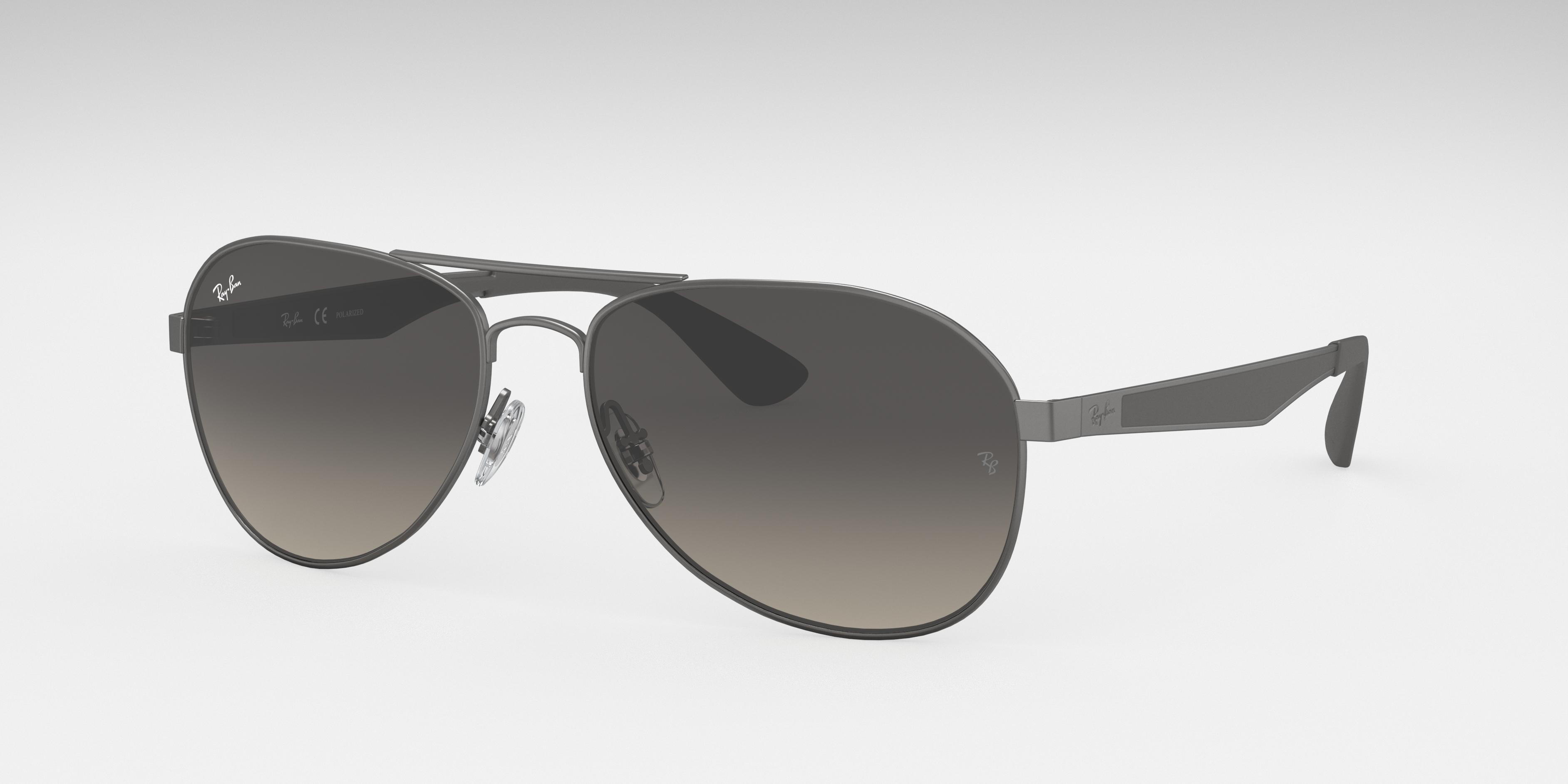 Ray-Ban Rb3549 Grey, Gray Lenses - RB3549