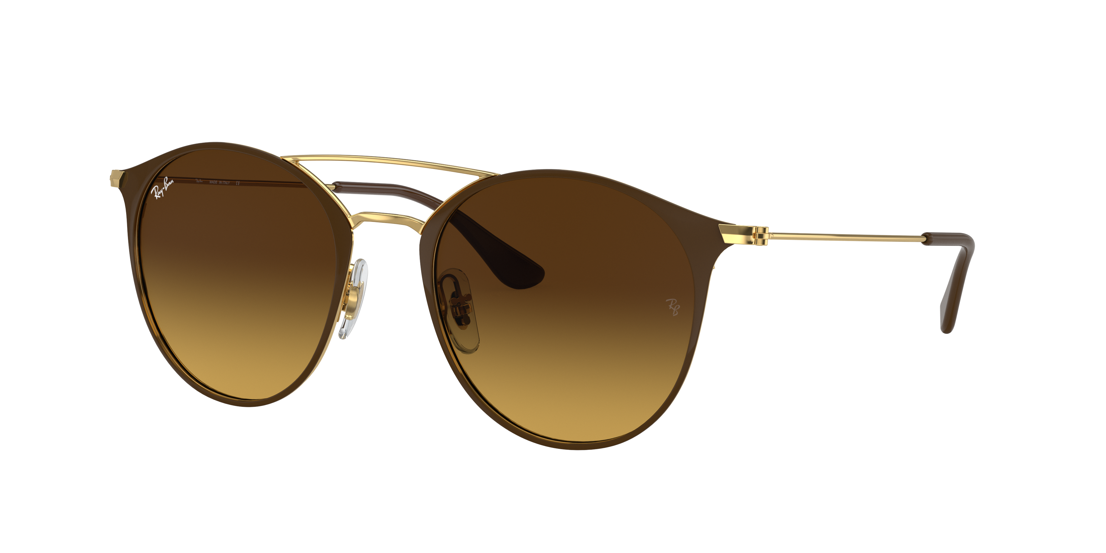 Ray-Ban Rb3546 Gold, Brown Lenses - RB3546