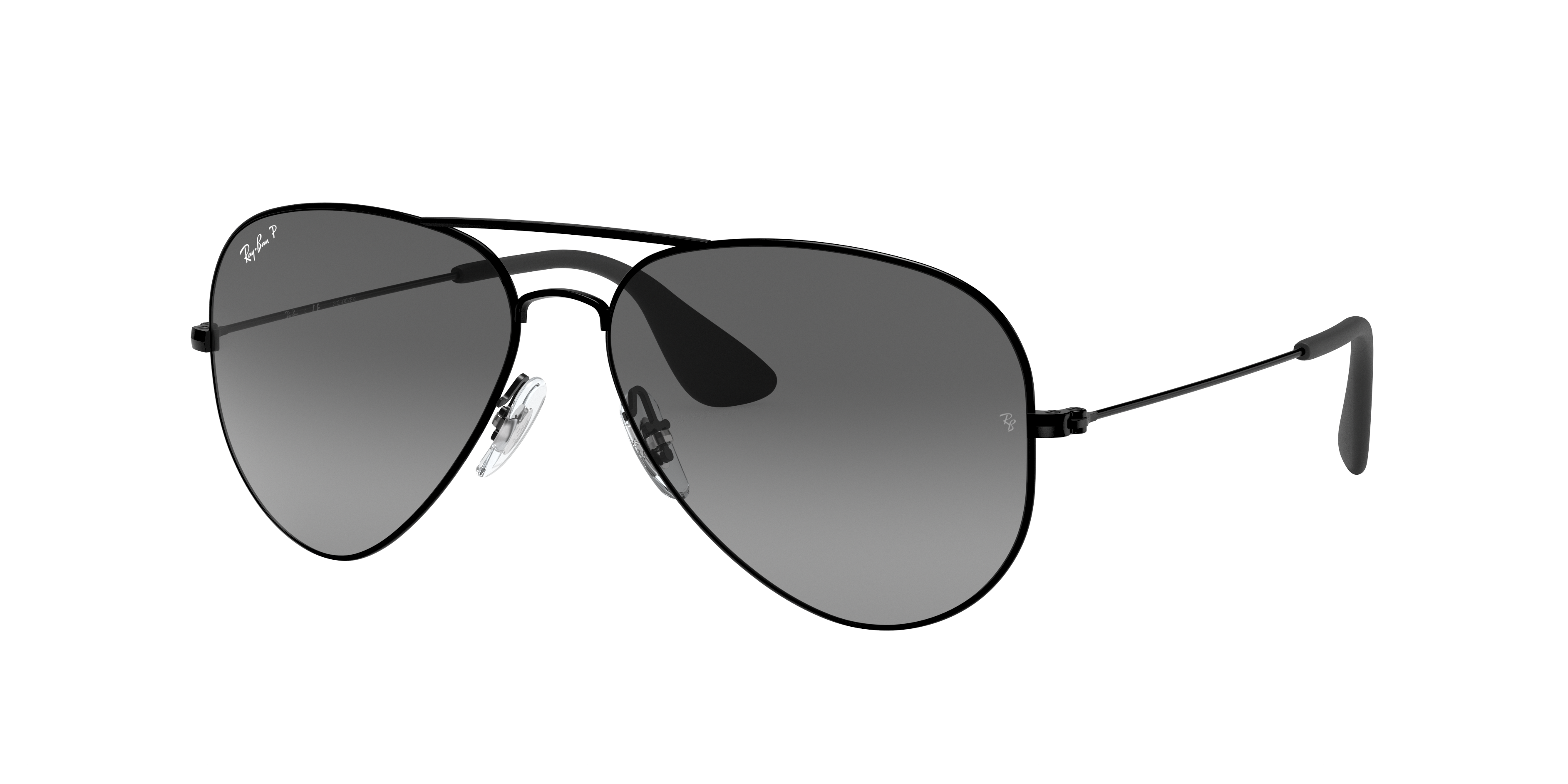 Ray-Ban Rb3558 Black, Polarized Gray Lenses - RB3558