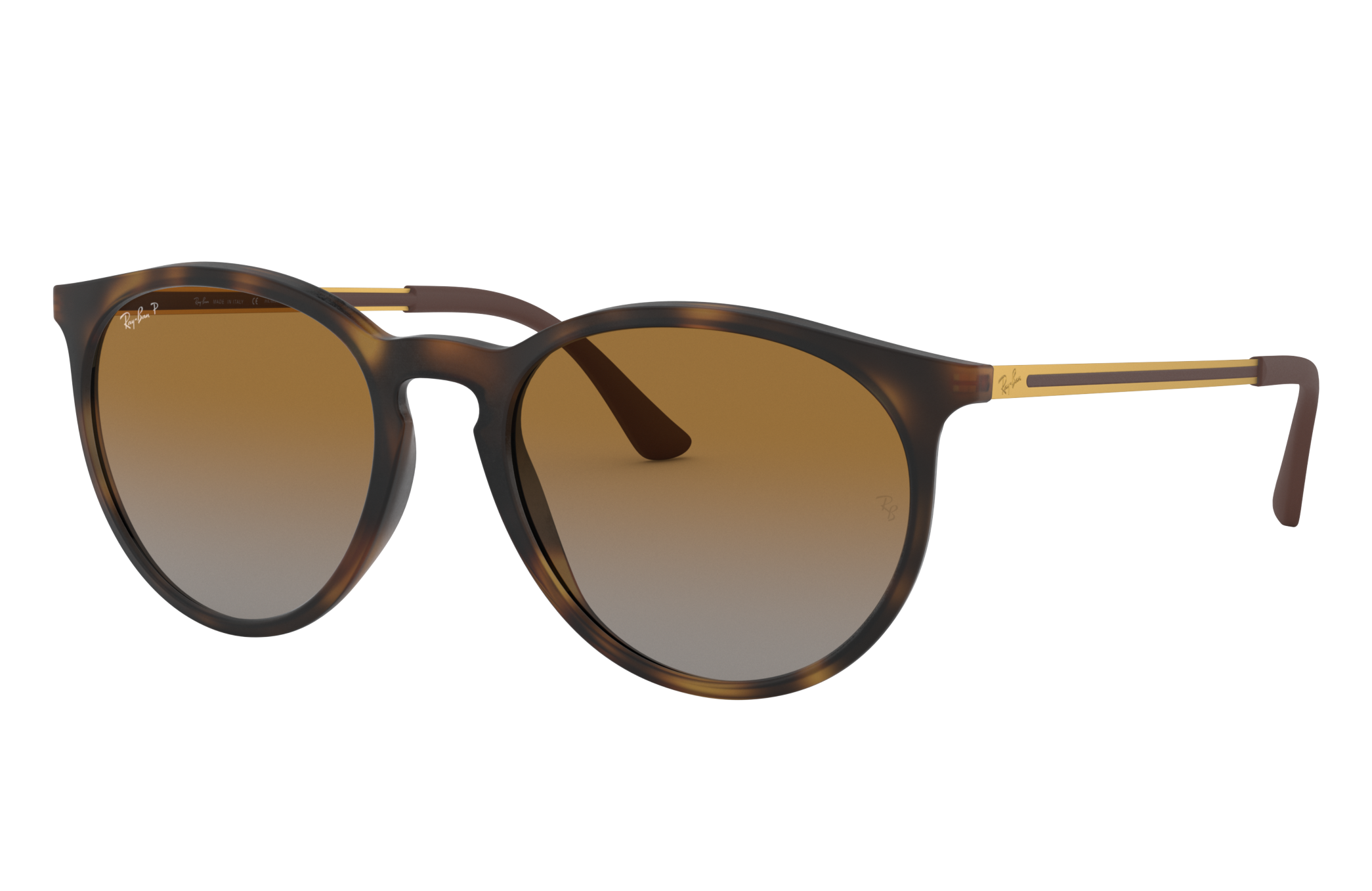 Ray-Ban Rb4274 Gold, Polarized Brown Lenses - RB4274