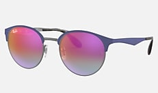 Ray-Ban RB3545 9005A9 51-20 RB3545 ブルー Icons