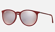 Ray-Ban RB4274F 6261B5 57-18 RB4274F(JPフィット) ボルドー Erika
