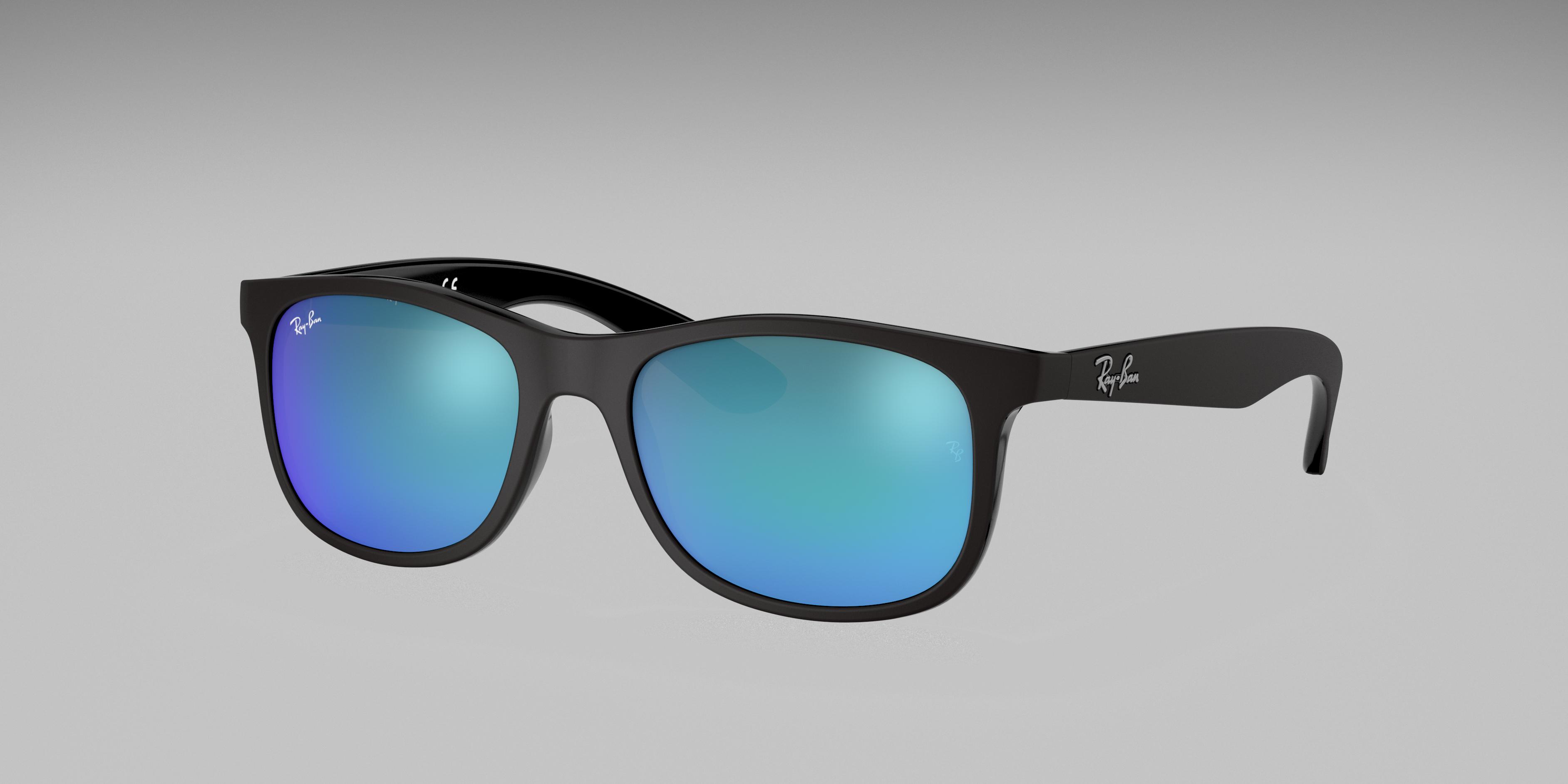Ray-Ban Rj9062s Black, Blue Lenses - RJ9062S