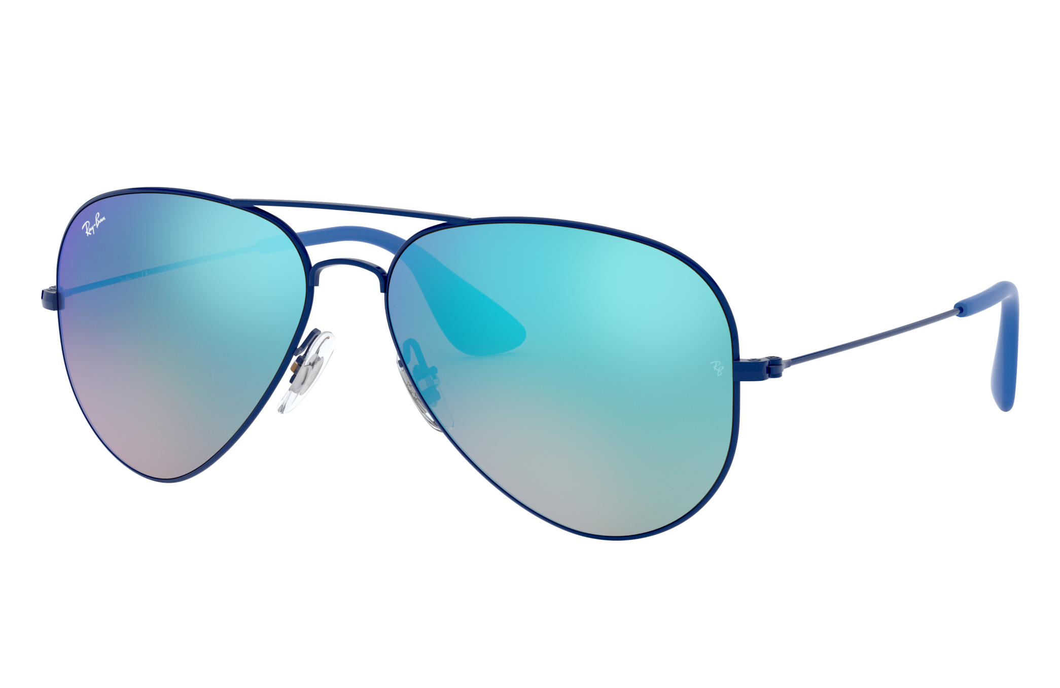 Ray-Ban Rb3558 Blue, Blue Lenses - RB3558