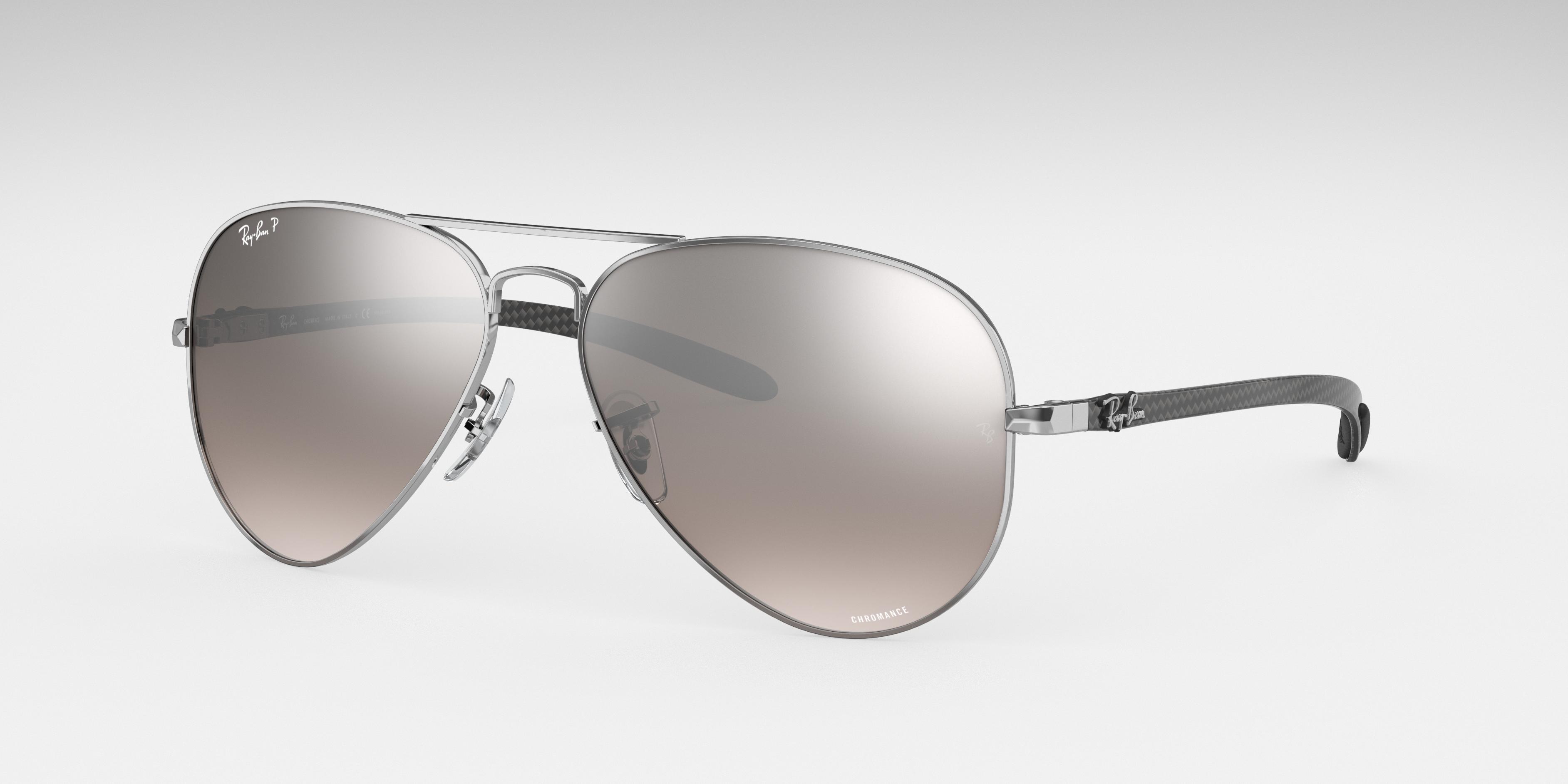 Ray-Ban Rb8317 Chromance Silver, Polarized Gray Lenses - RB8317CH