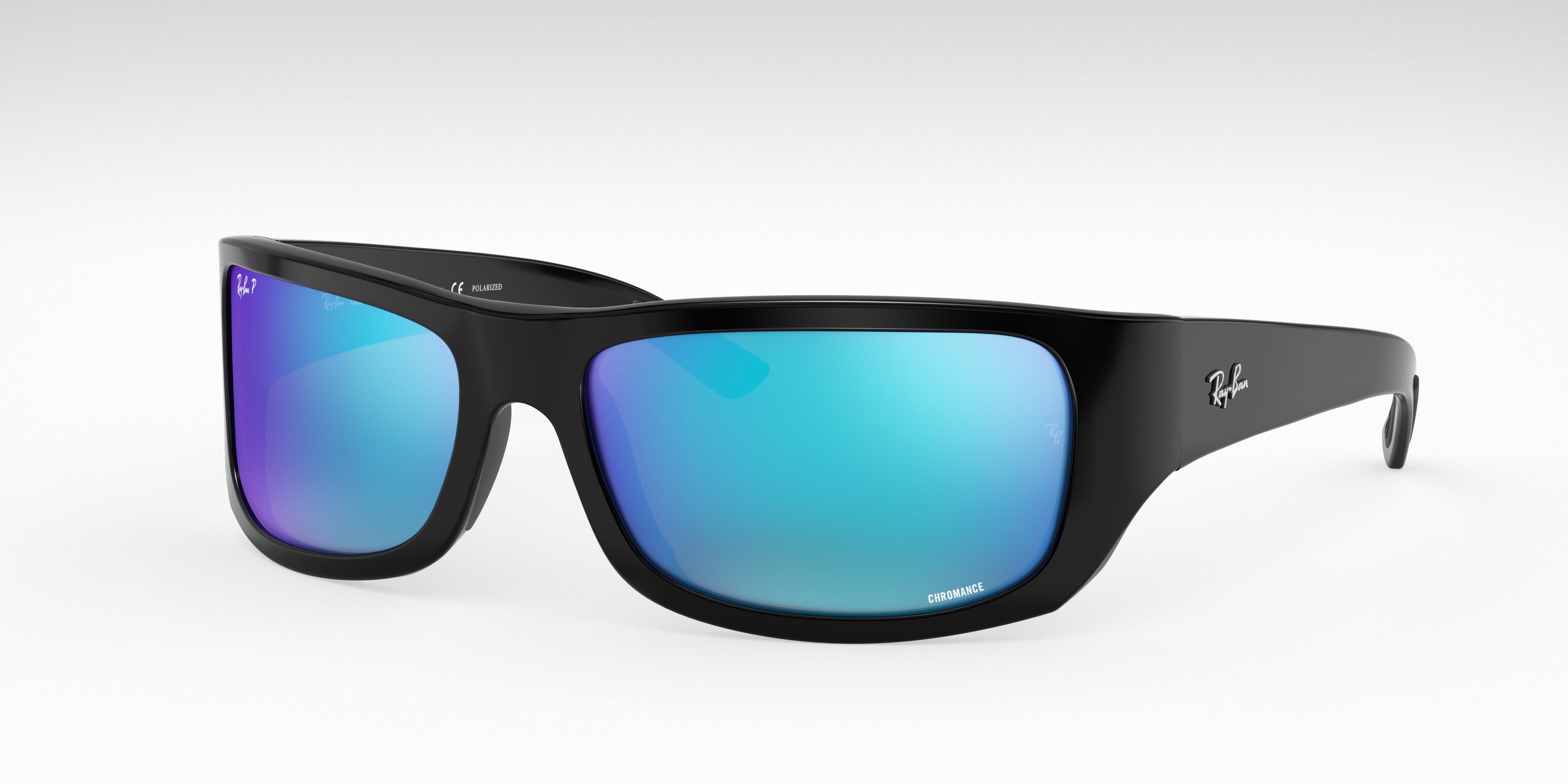 Ray-Ban Rb4283 Chromance Black, Polarized Blue Lenses - RB4283CH