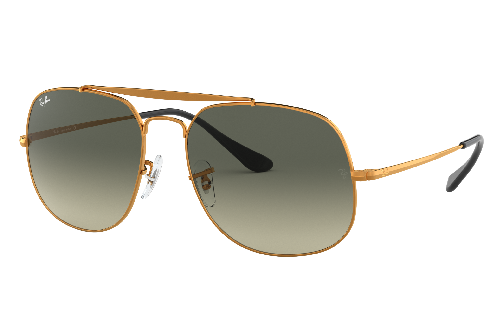 Ray-Ban General Bronze-Copper, Gray Lenses - RB3561