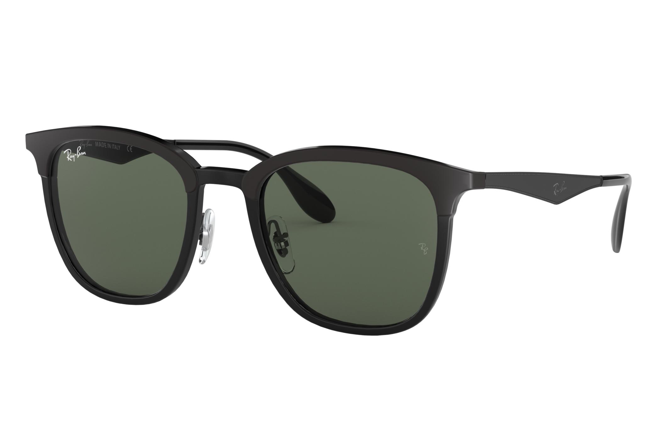 Ray-Ban Rb4278 Black, Green Lenses - RB4278