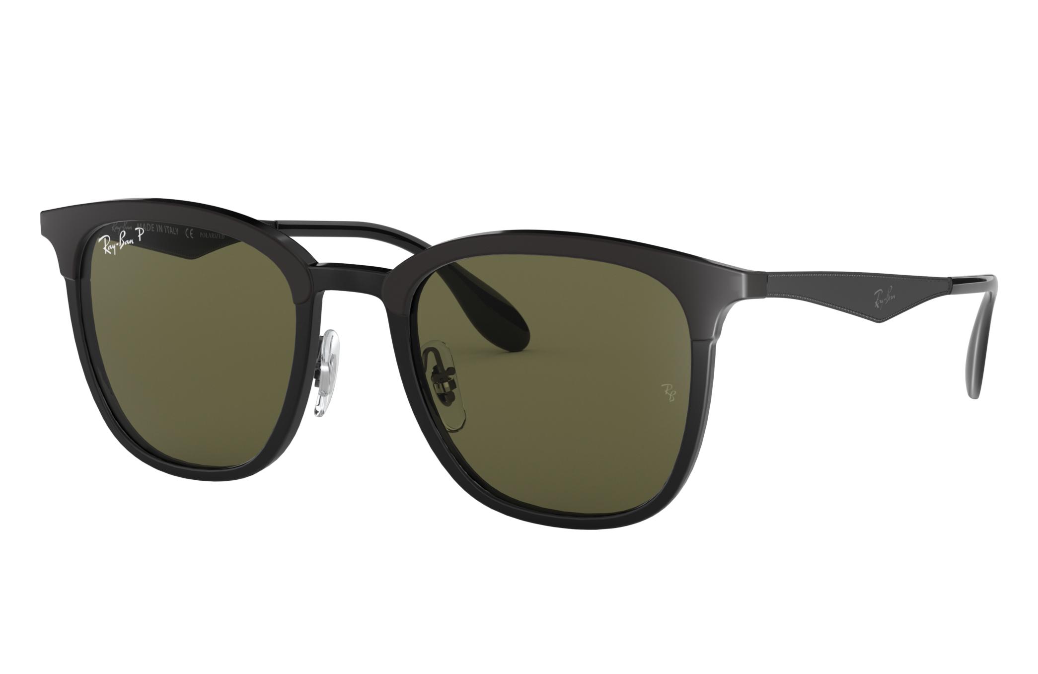 Ray-Ban Rb4278 Black, Polarized Green Lenses - RB4278